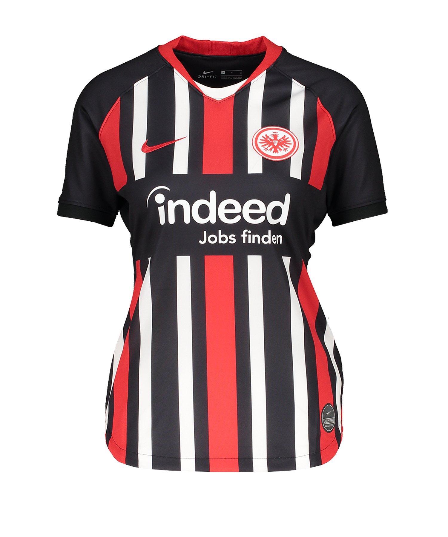 Nike Eintracht Frankfurt Trikot H 19/20 Damen F011 - schwarz