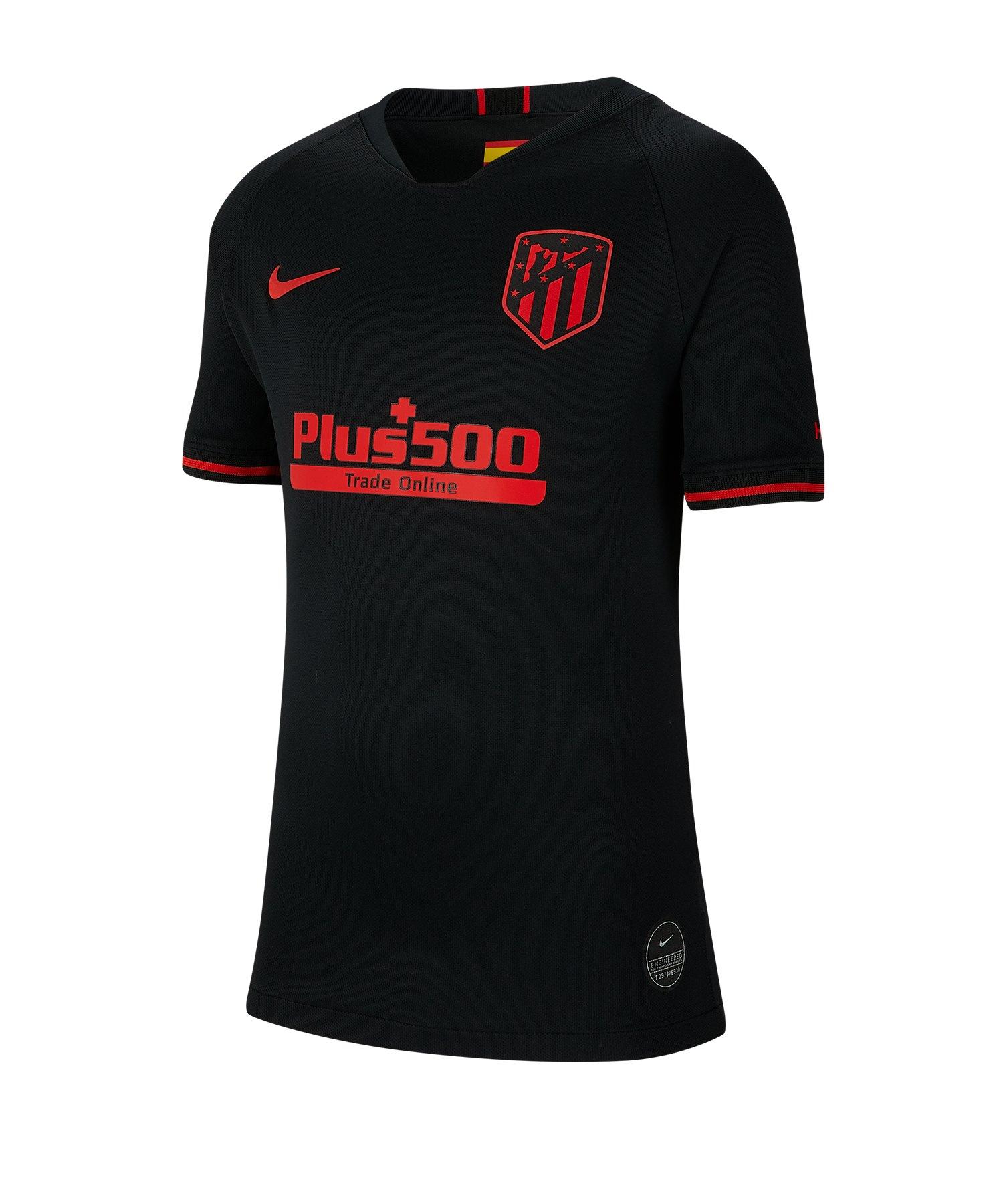 Nike Atletico Madrid Trikot Away 2019/2020 Kids F011 - schwarz