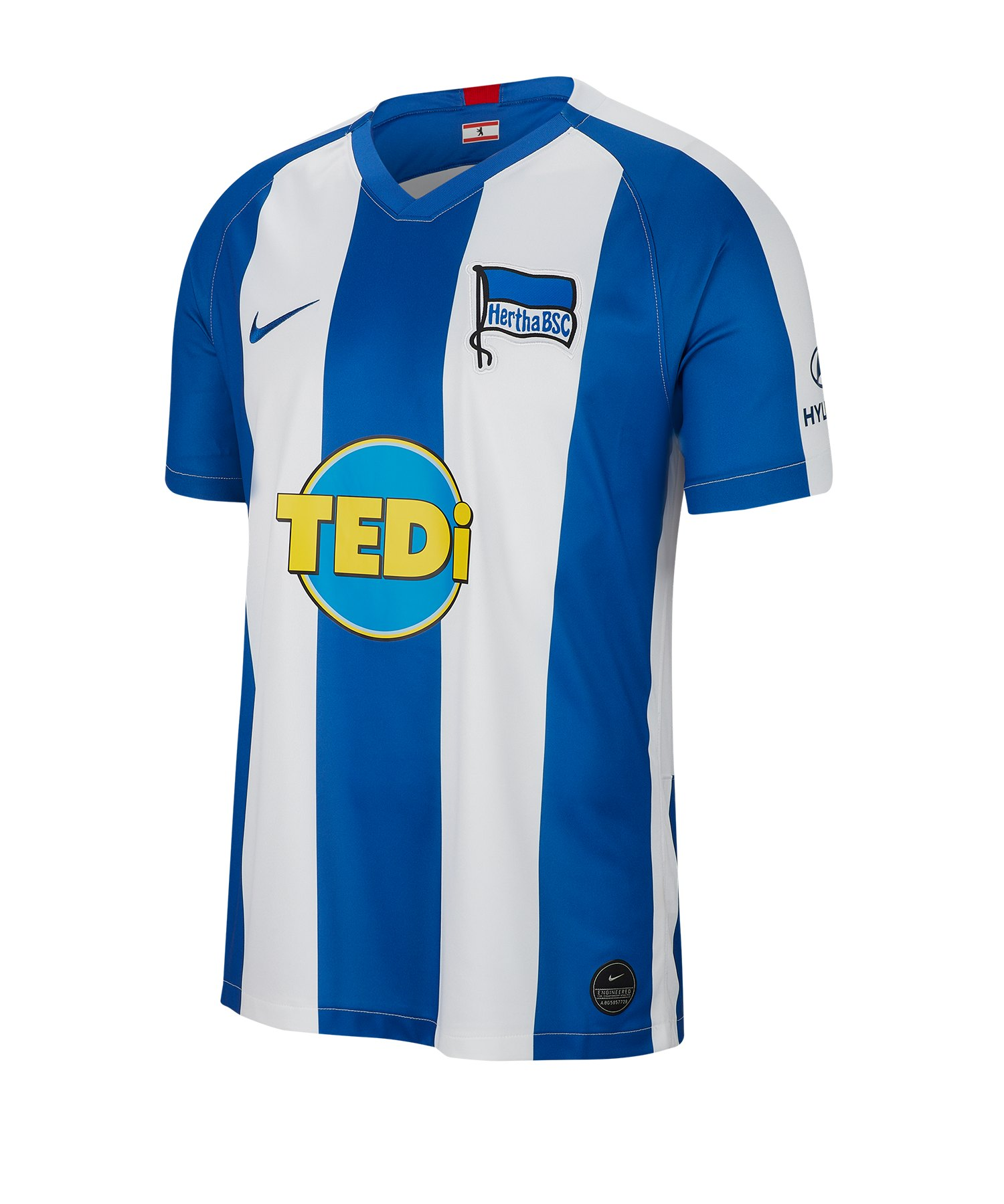Nike Hertha BSC Berlin Trikot Home 2019/2020 Kids F101 - weiss