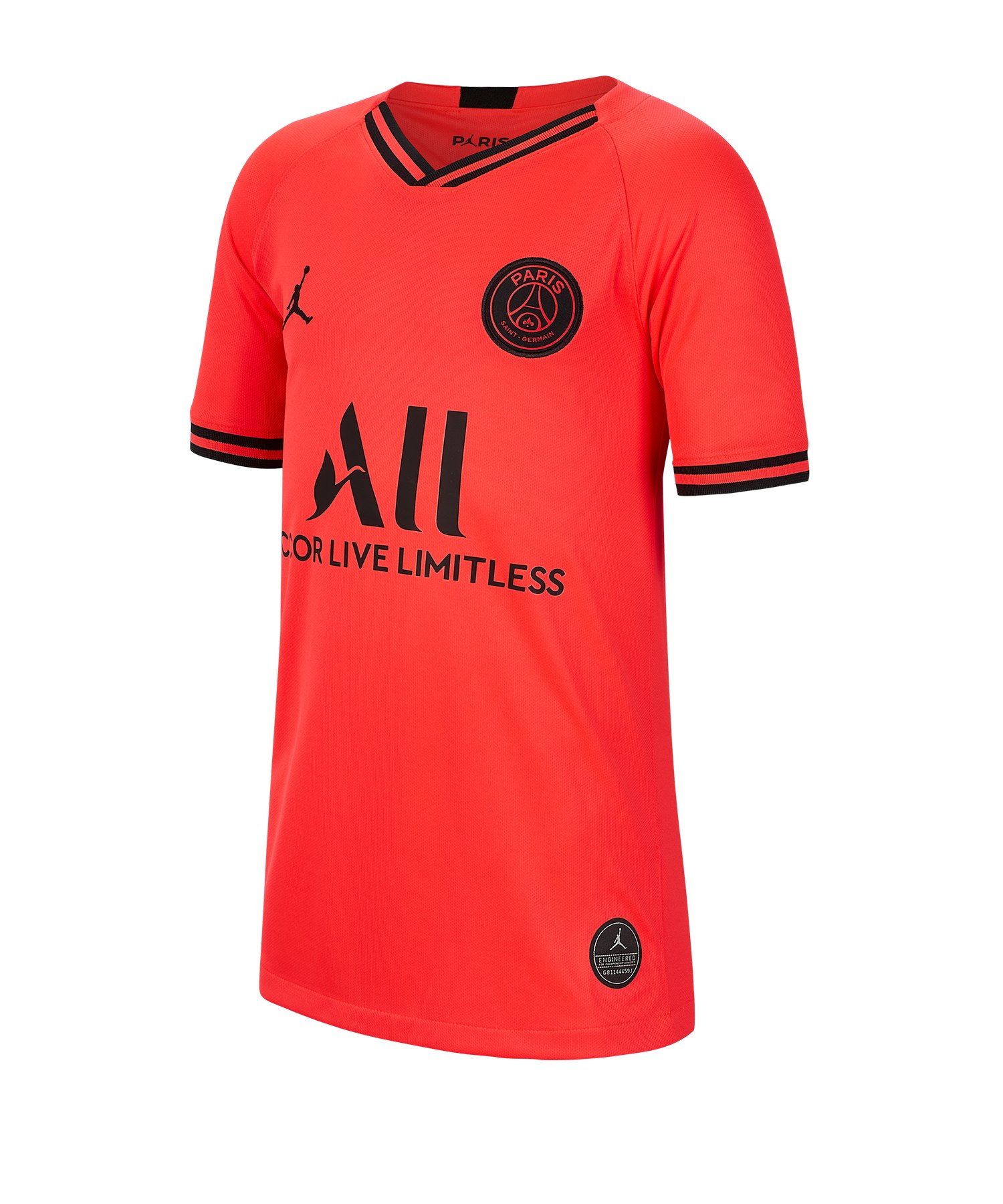 Jordan Paris St. Germain Trikot A 19/20 Kids F613 - orange
