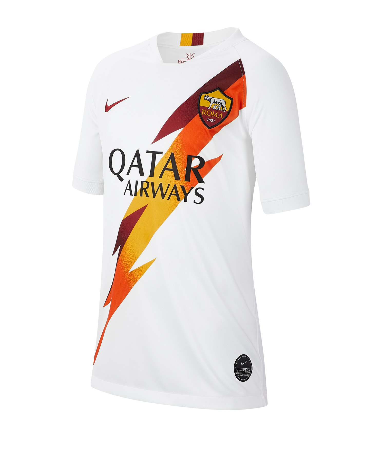 Nike AS Rom Trikot Away 19/20 Kids F100 - weiss