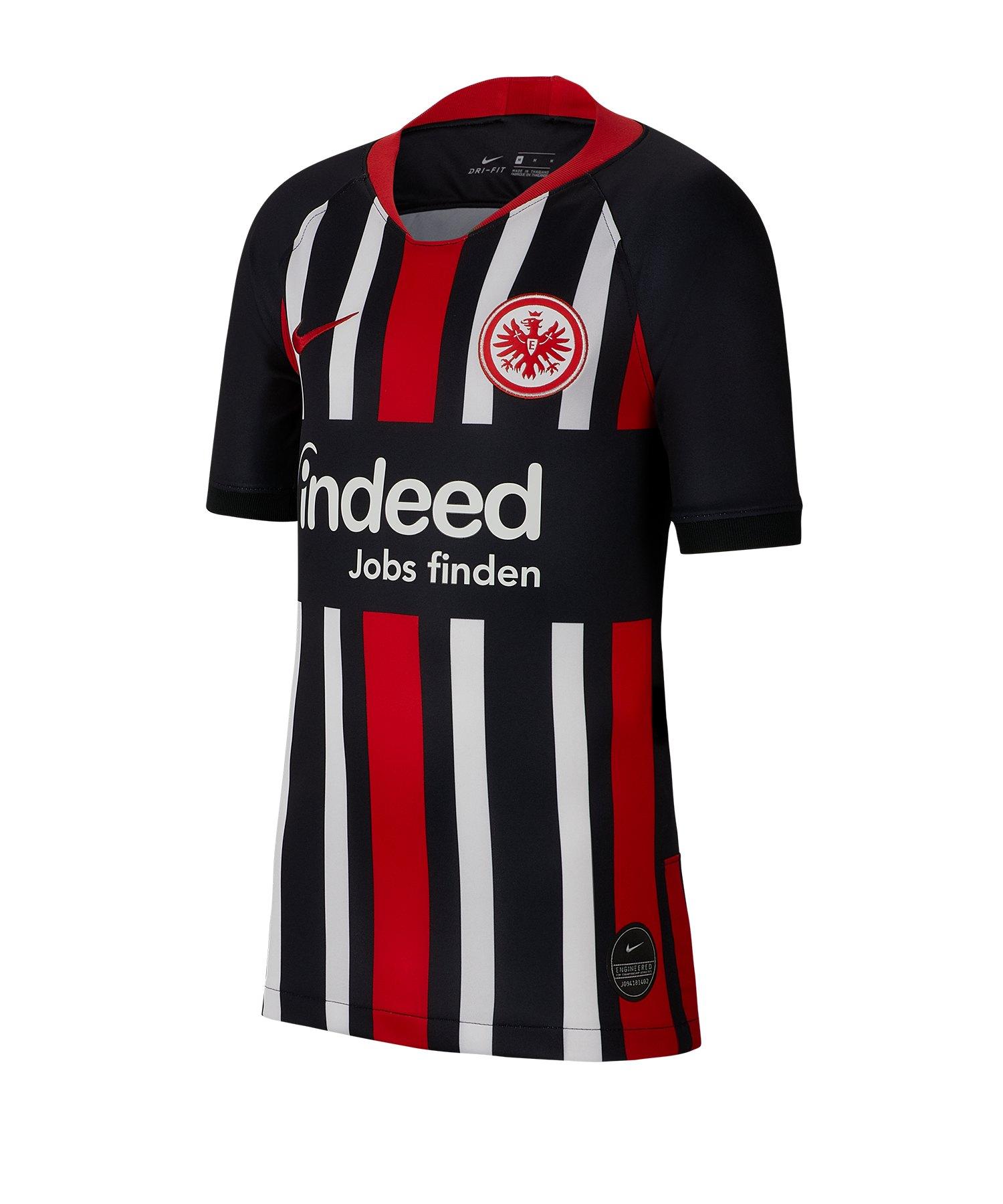 Nike Eintracht Frankfurt Trikot H 19/20 Kids F011 - schwarz