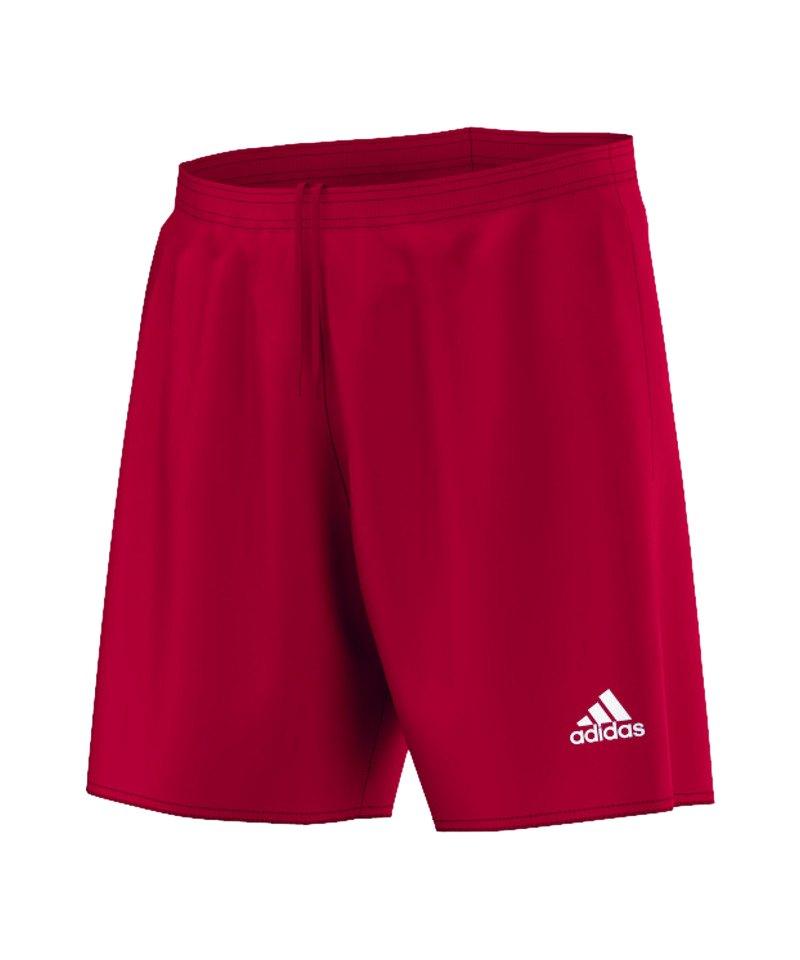adidas Short ohne Innenslip Parma 16 Kinder Rot - rot
