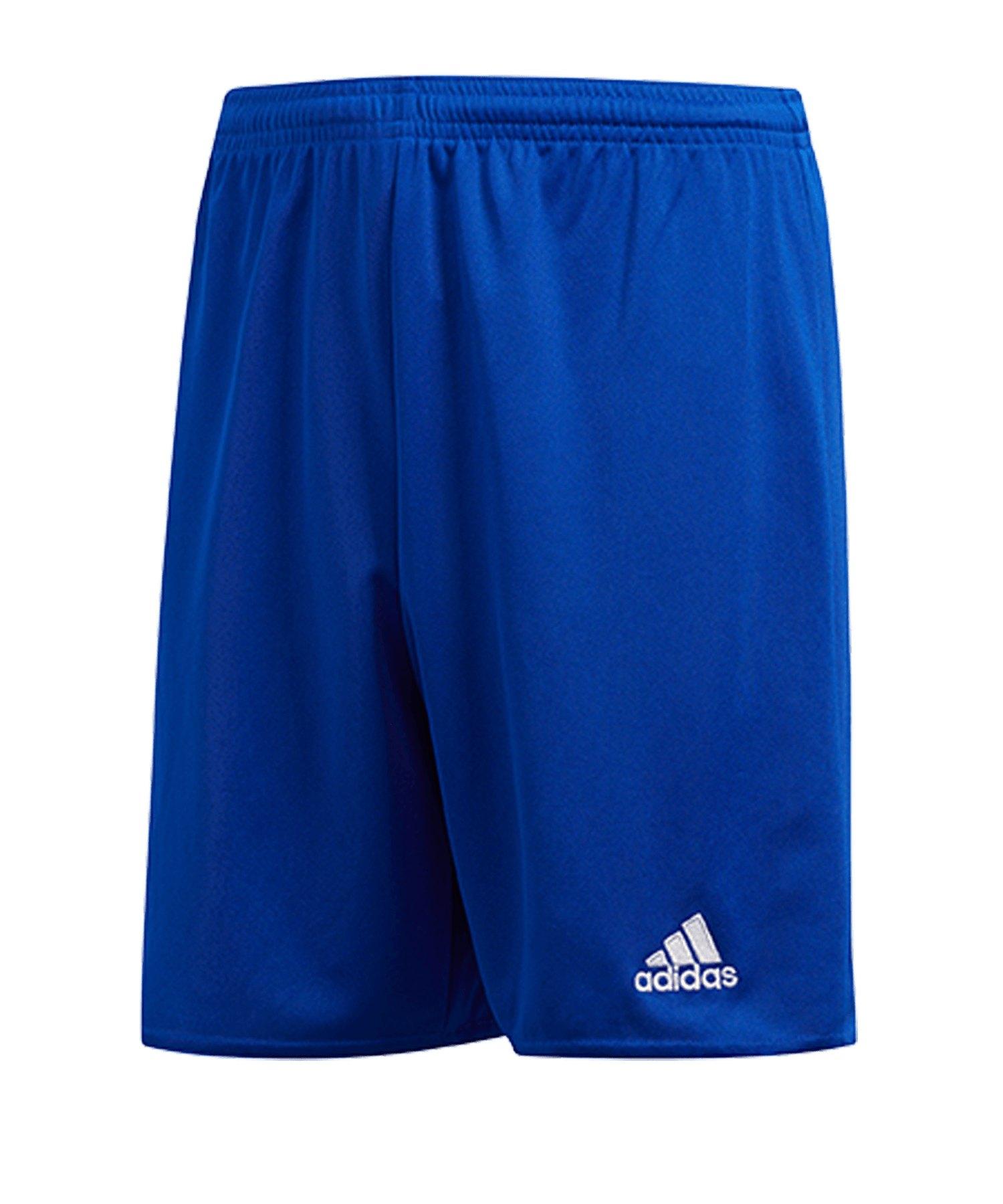 adidas Parma 16 Short Kids Blau Weiss - blau