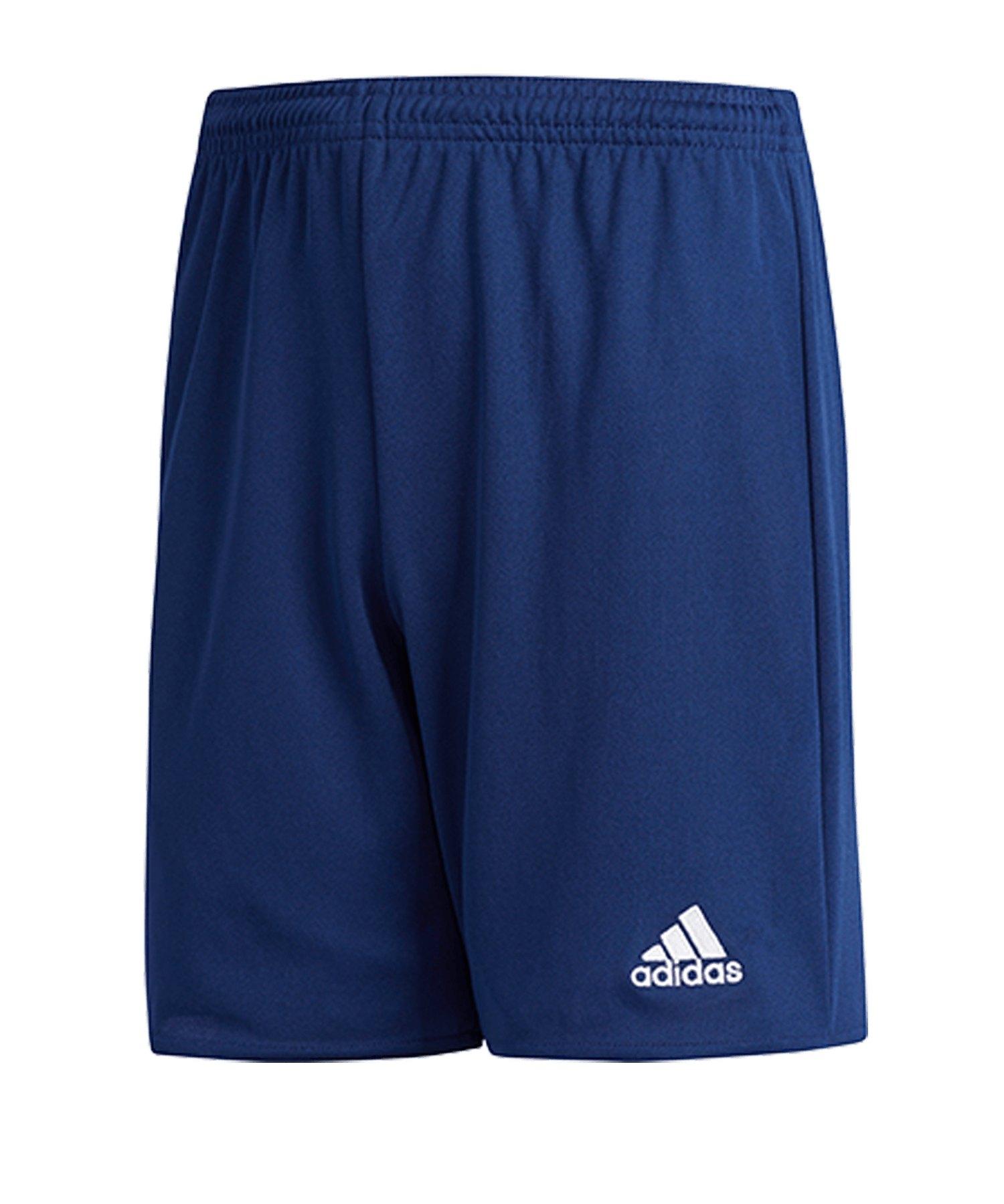 adidas Parma 16 Short KidsDunkelblau Weiss - blau