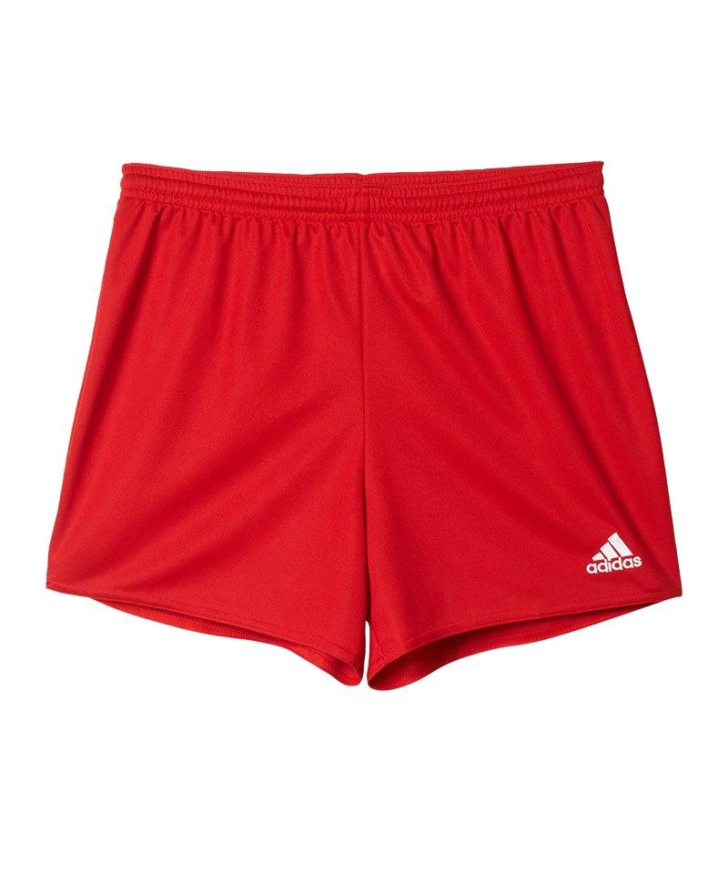 adidas Parma 16 Short Langgröße Damen Rot - rot