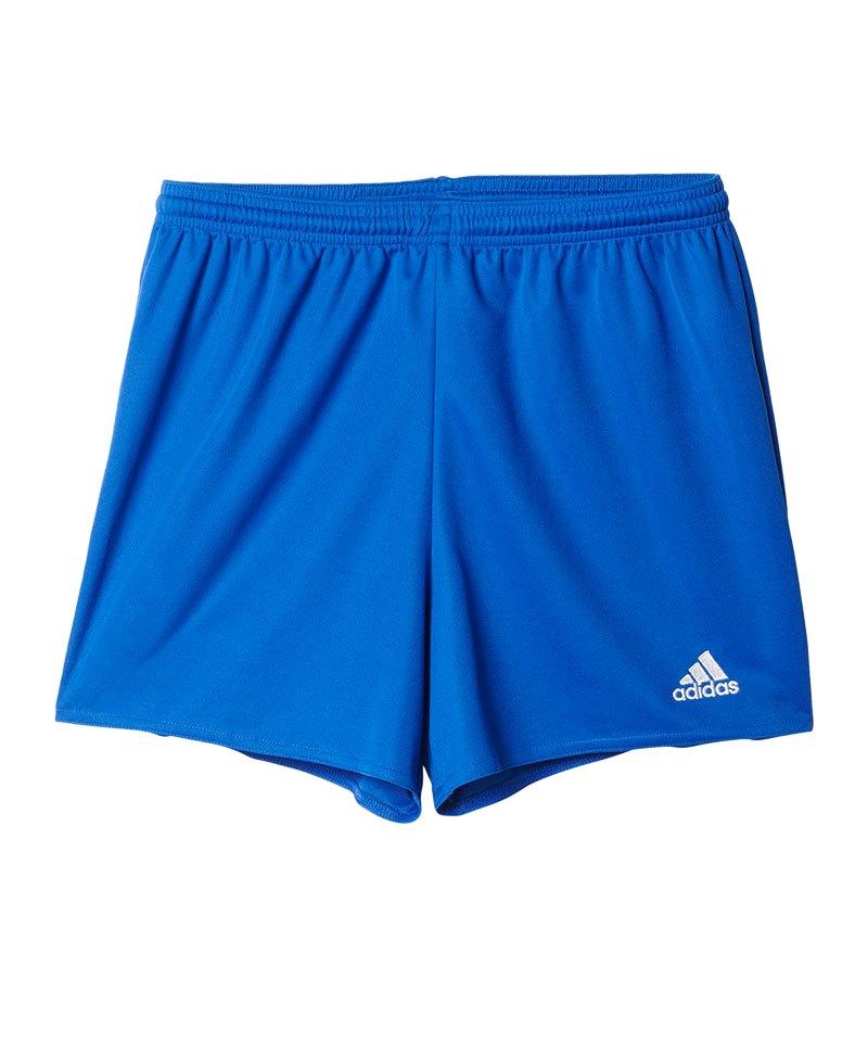 adidas Parma 16 Short Langgröße Damen Blau - blau