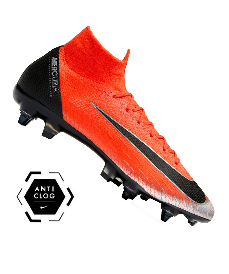 Nike Mercurial Superfly VI Elite CR7 SG-Pro AC F600 - rot