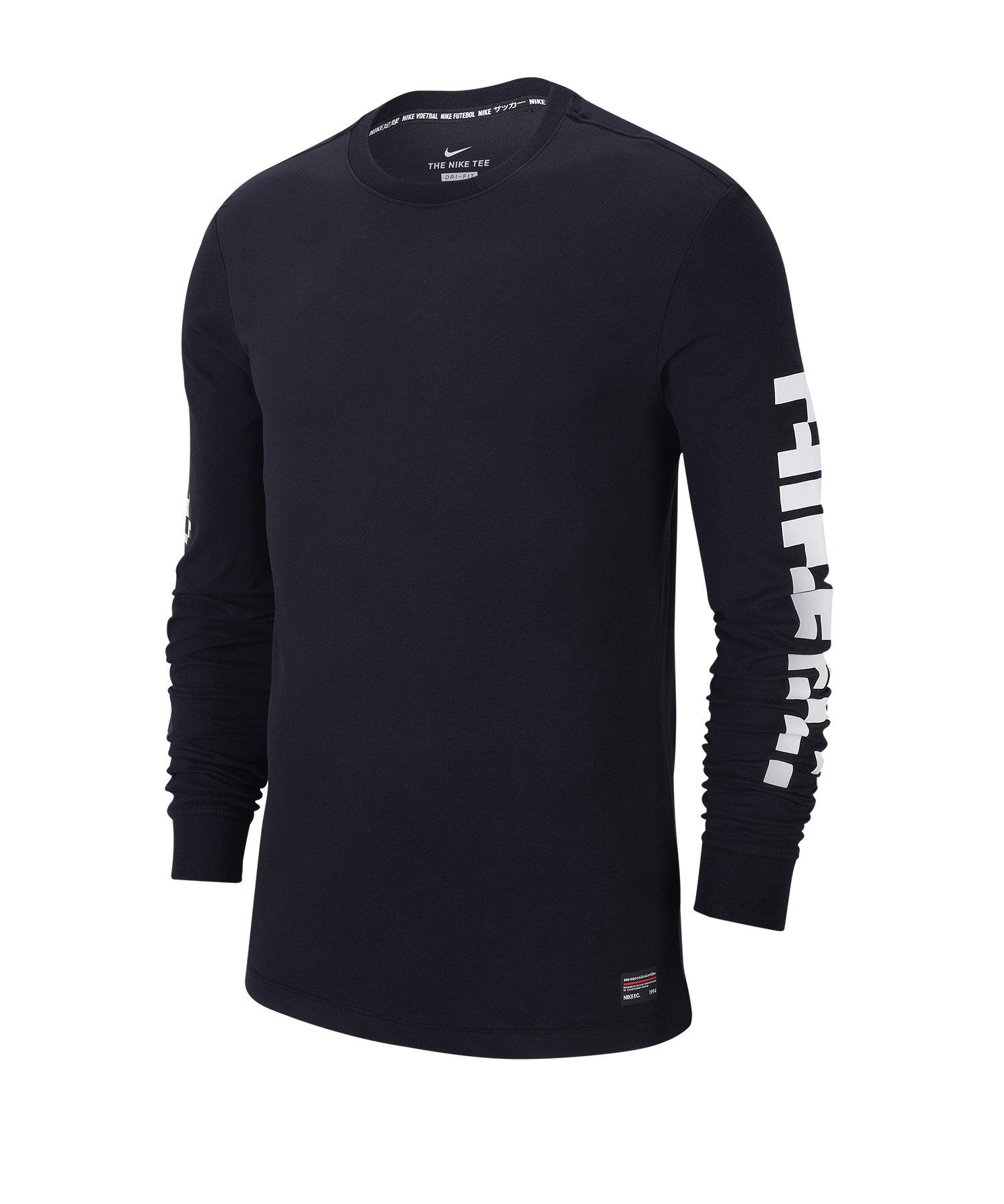 Nike F.C. Sweatshirt Schwarz F010 - schwarz