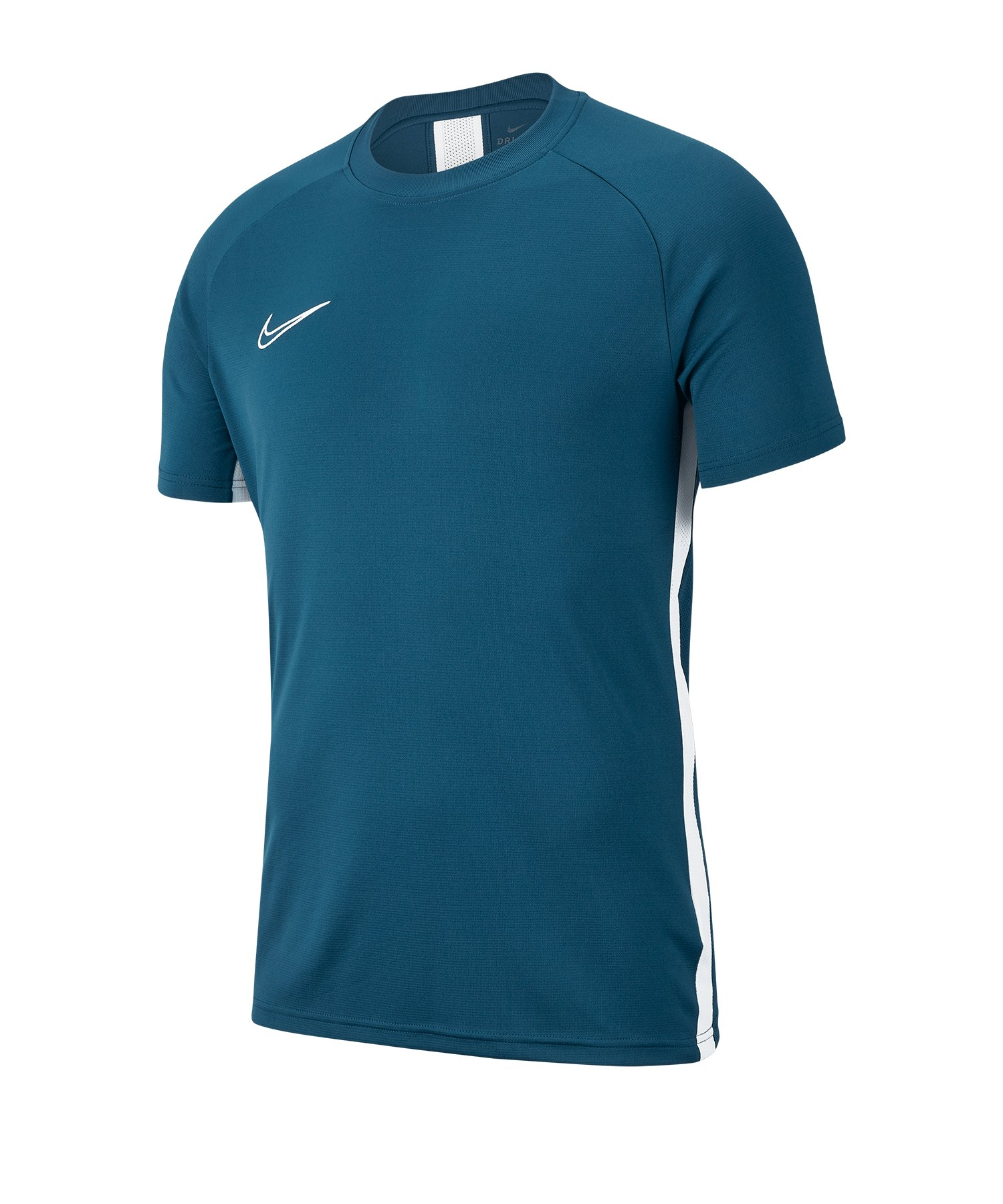 Nike Academy 19 Trainingstop T-Shirt Blau F404 - blau