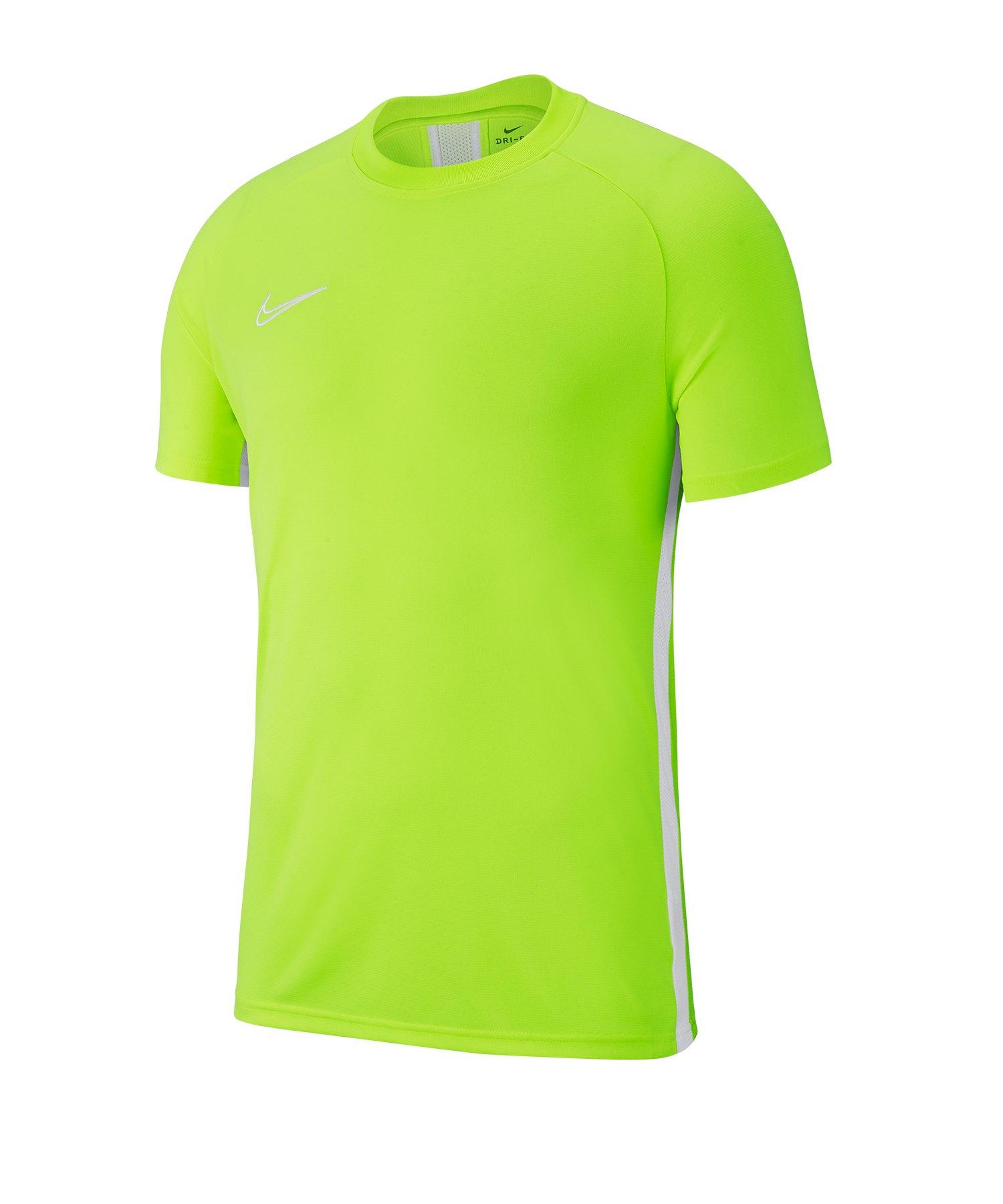 Nike Academy 19 Trainingstop T-Shirt Gelb F702 - gelb