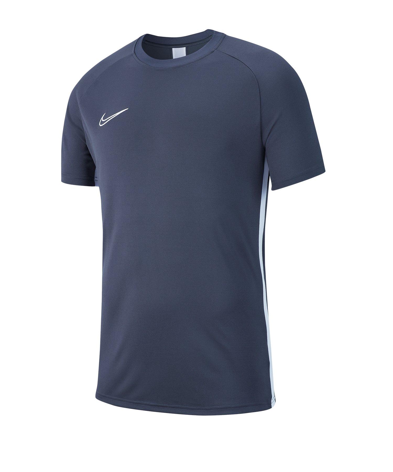 Nike Academy 19 Trainingstop T-Shirt Grau F060 - grau