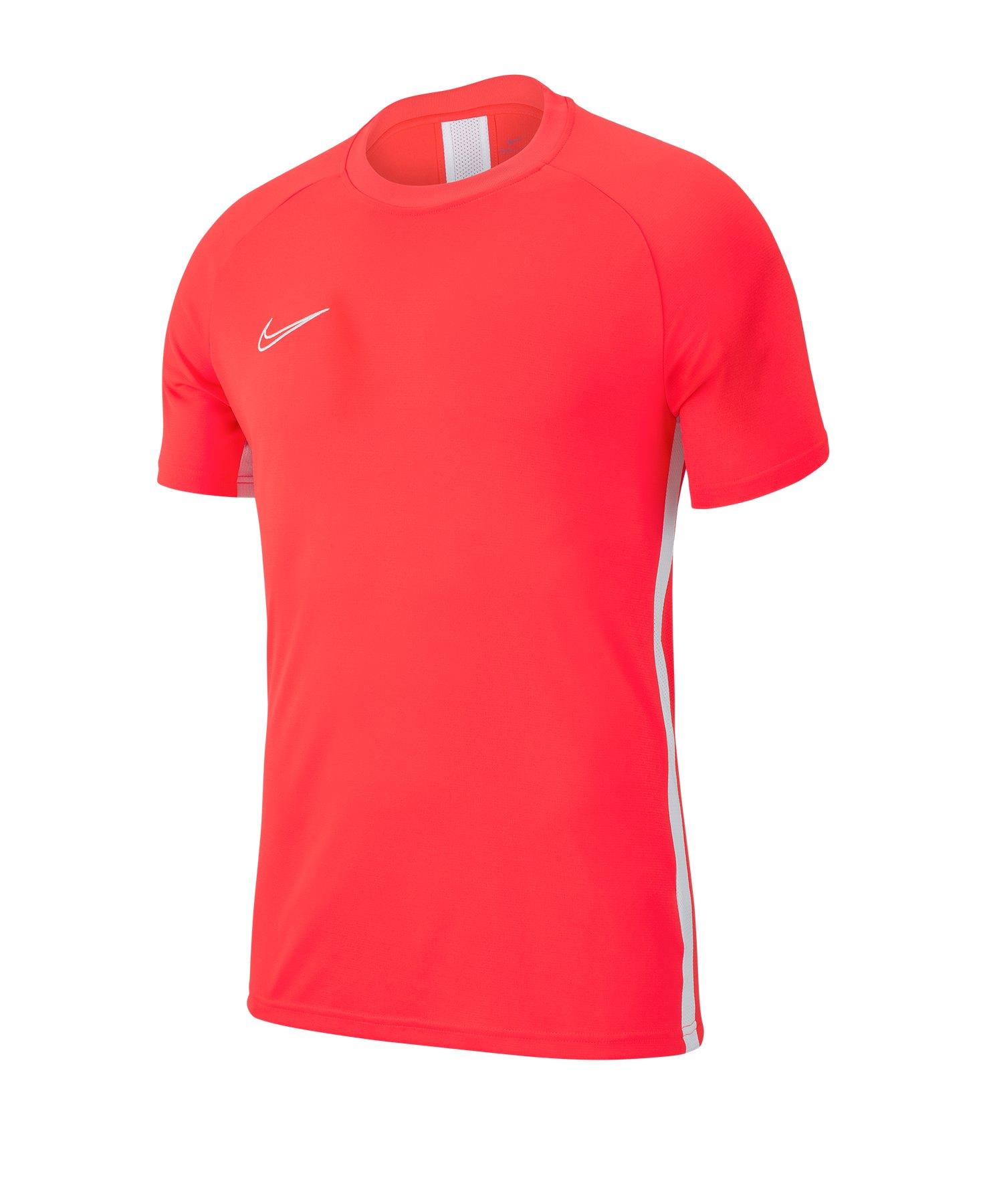 Nike Academy 19 Trainingstop T-Shirt Rot F671 - rot