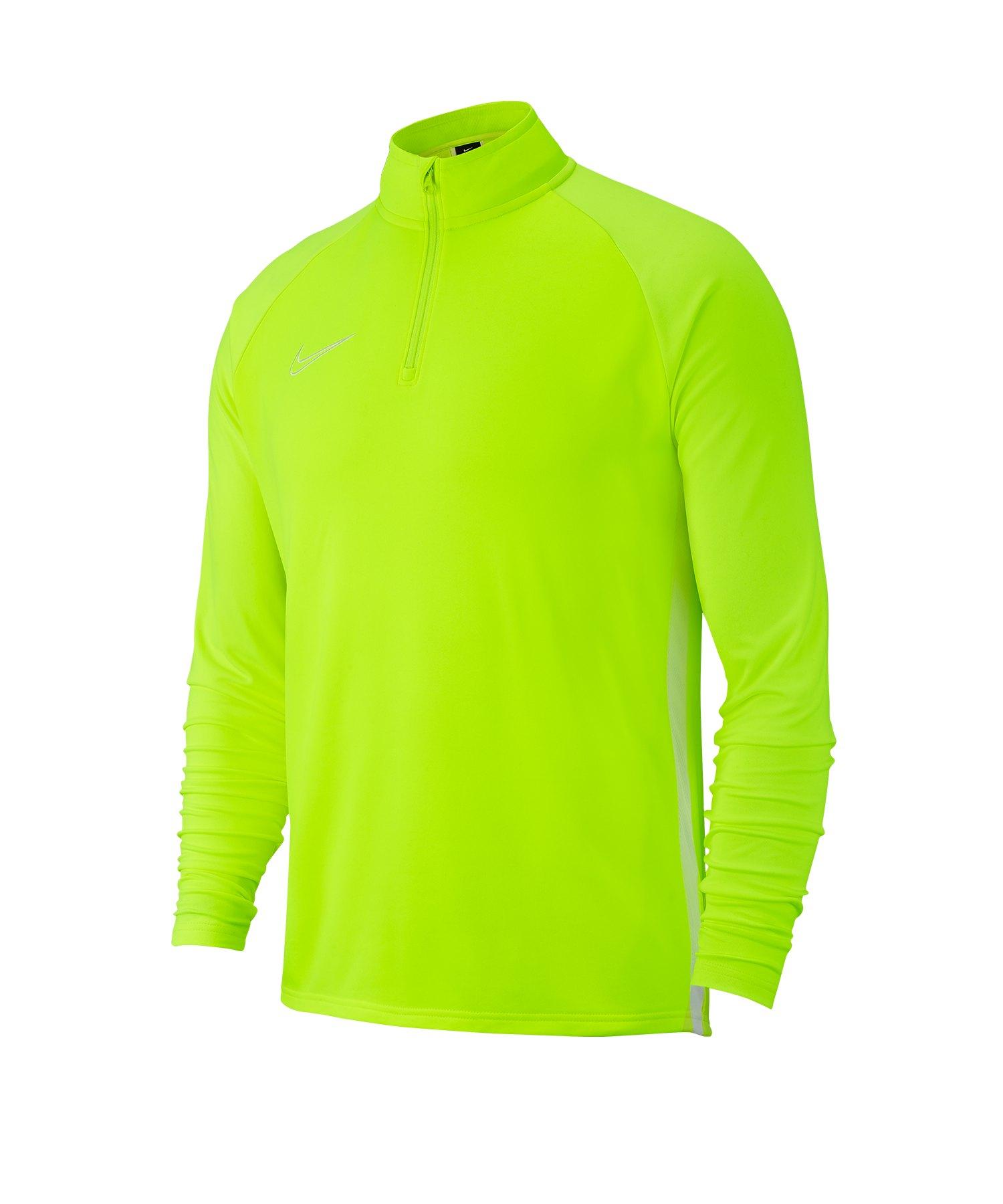 Nike Academy 19 1/4 Zip Drill Top Gelb F702 - gelb