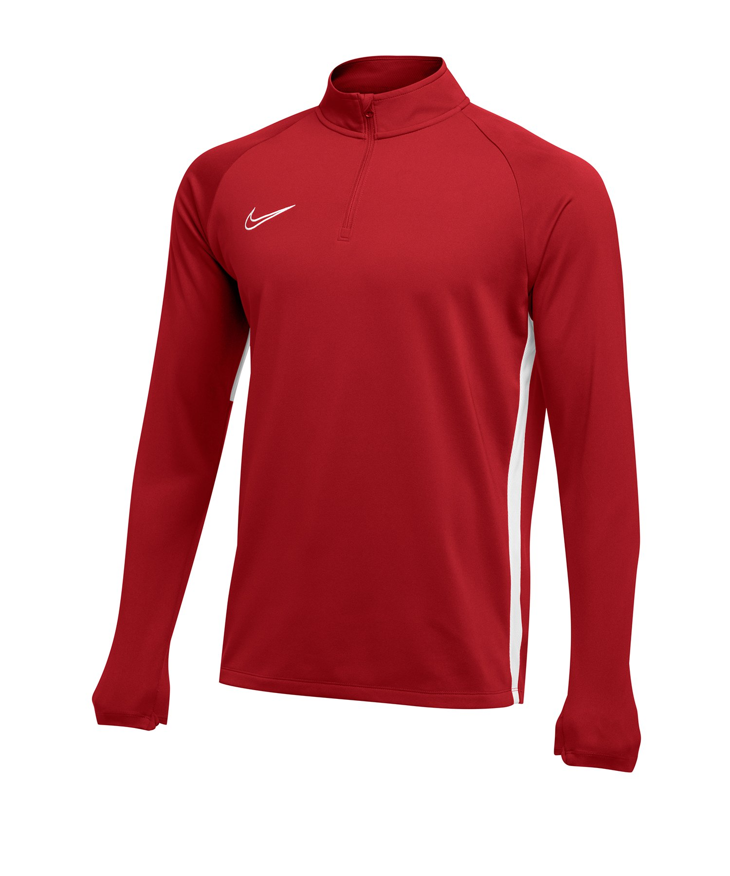 Nike Academy 19 1/4 Zip Drill Top Rot F657 - rot