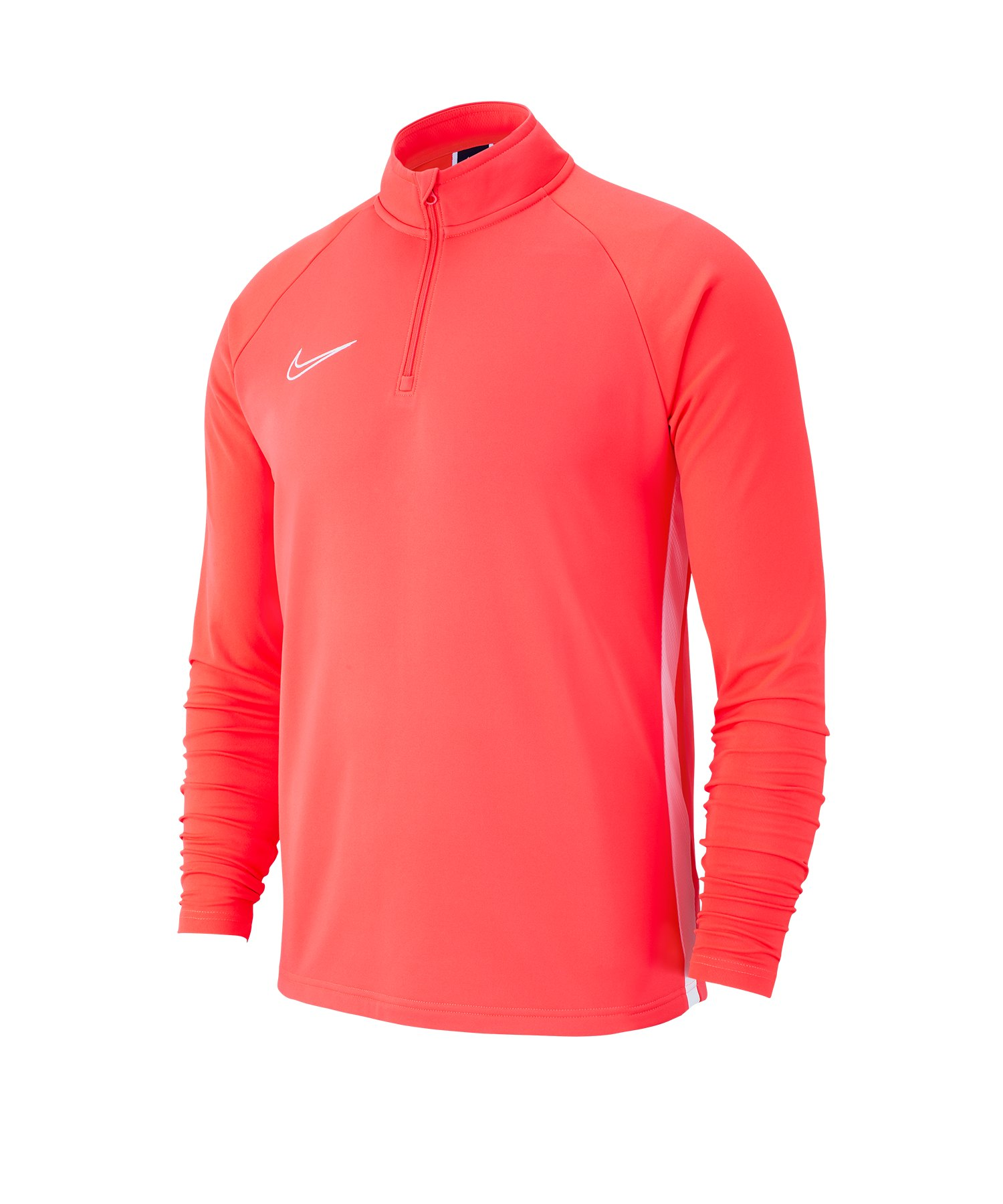 Nike Academy 19 1/4 Zip Drill Top Rot F671 - rot
