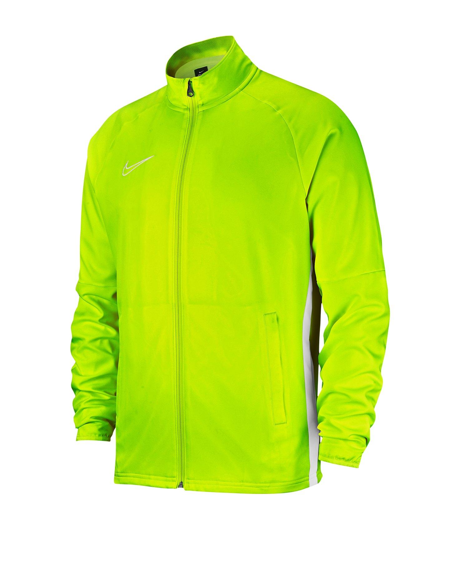 Nike Academy 19 Woven Präsentationsjacke Gelb F702 - gelb