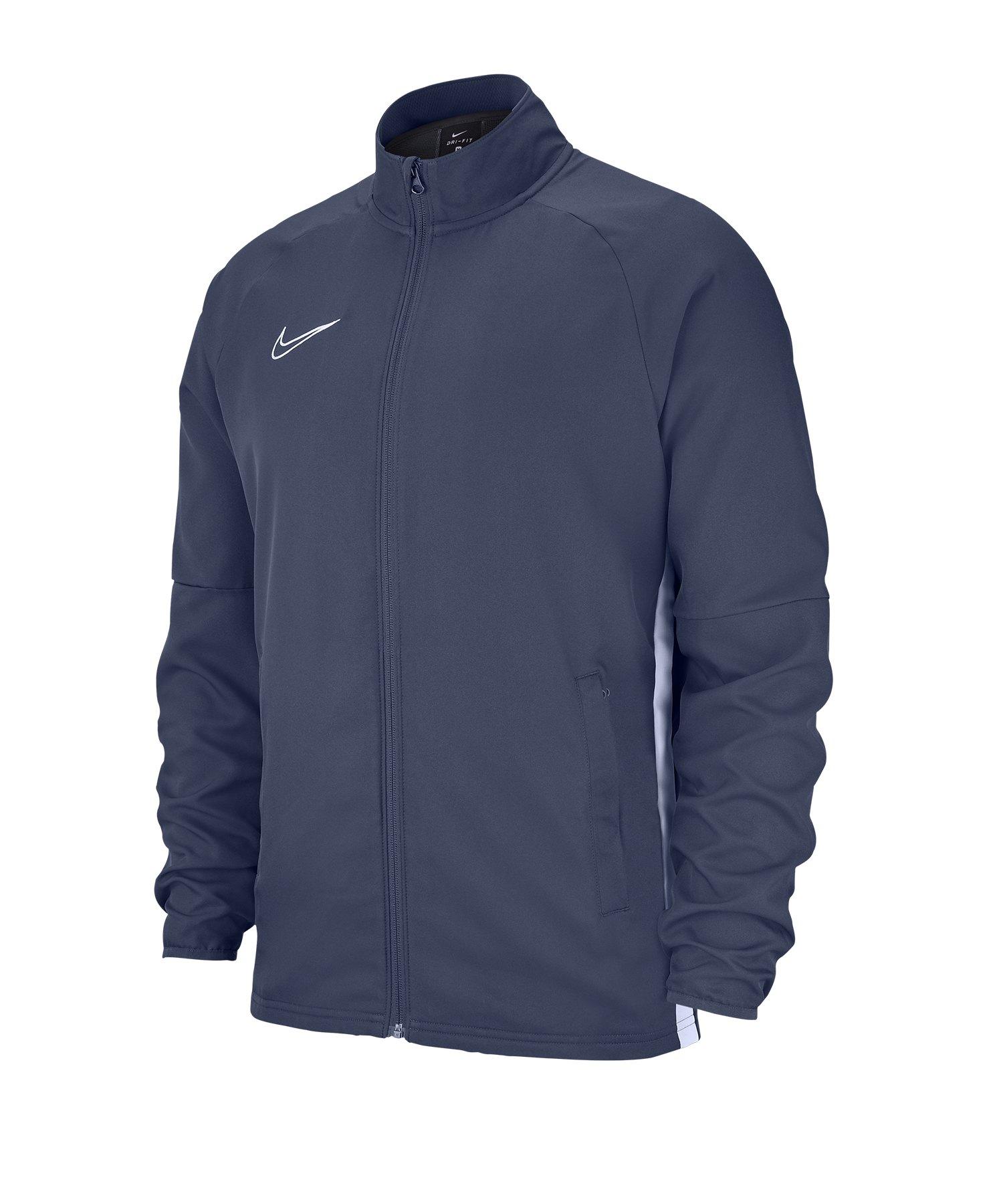 Nike Academy 19 Woven Präsentationsjacke Grau F060 - grau