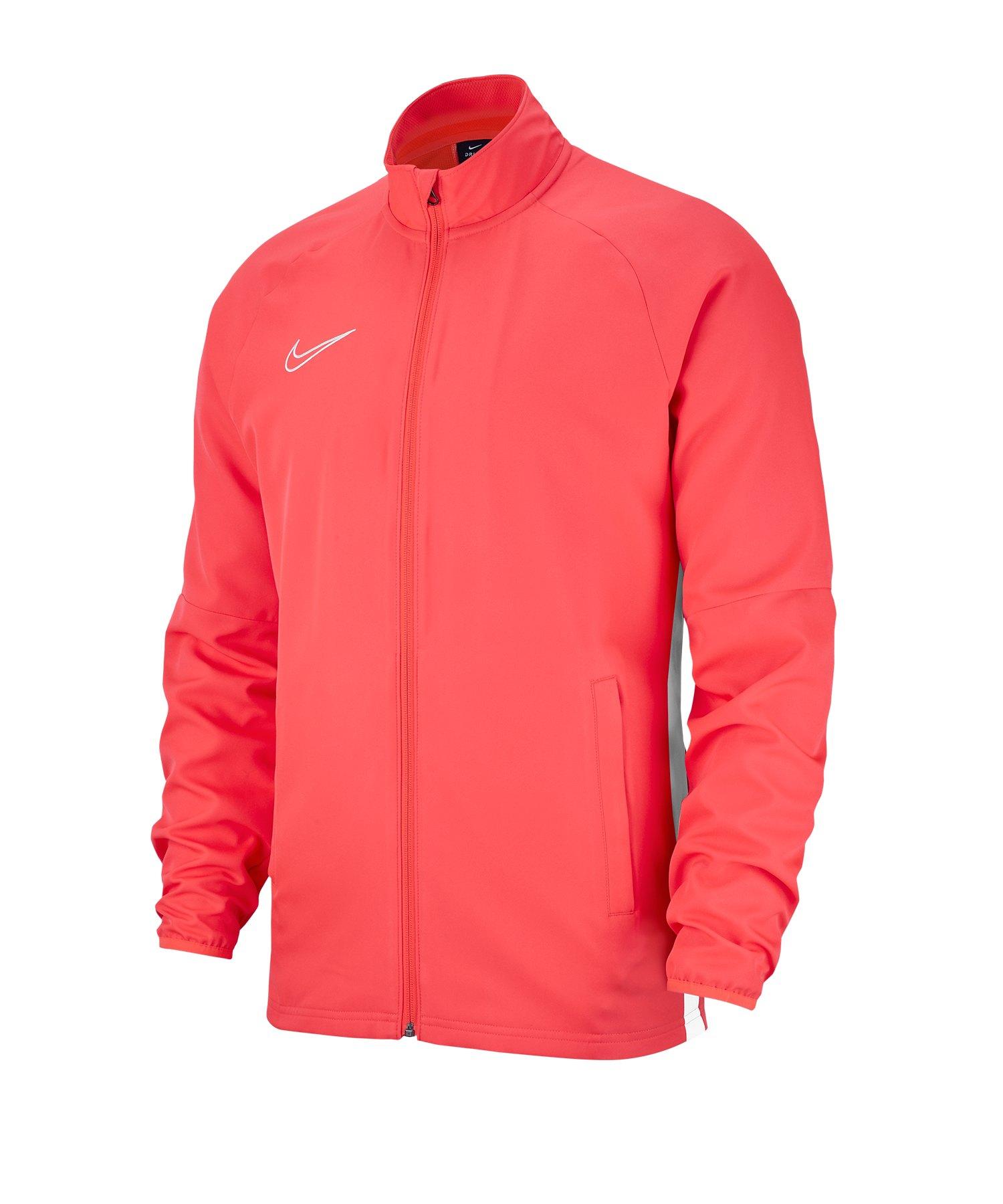 Nike Academy 19 Woven Präsentationsjacke Rot F671