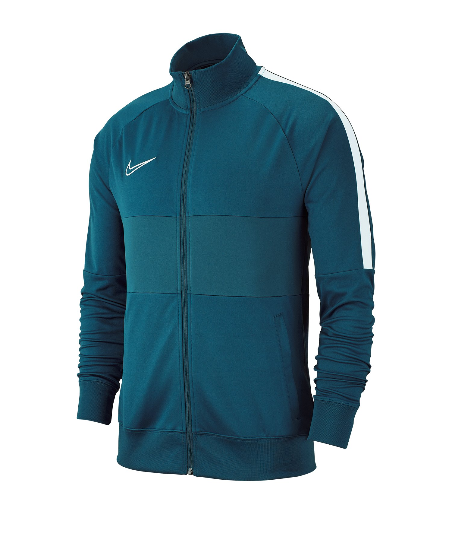 Nike Academy 19 Trainingsjacke Blau F404 - gruen