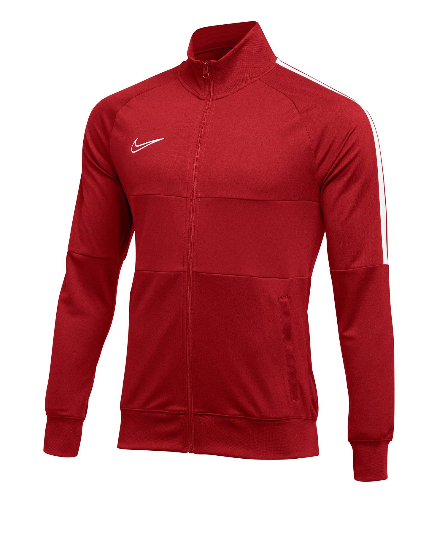 Nike Academy 19 Trainingsjacke Rot F657 - rot