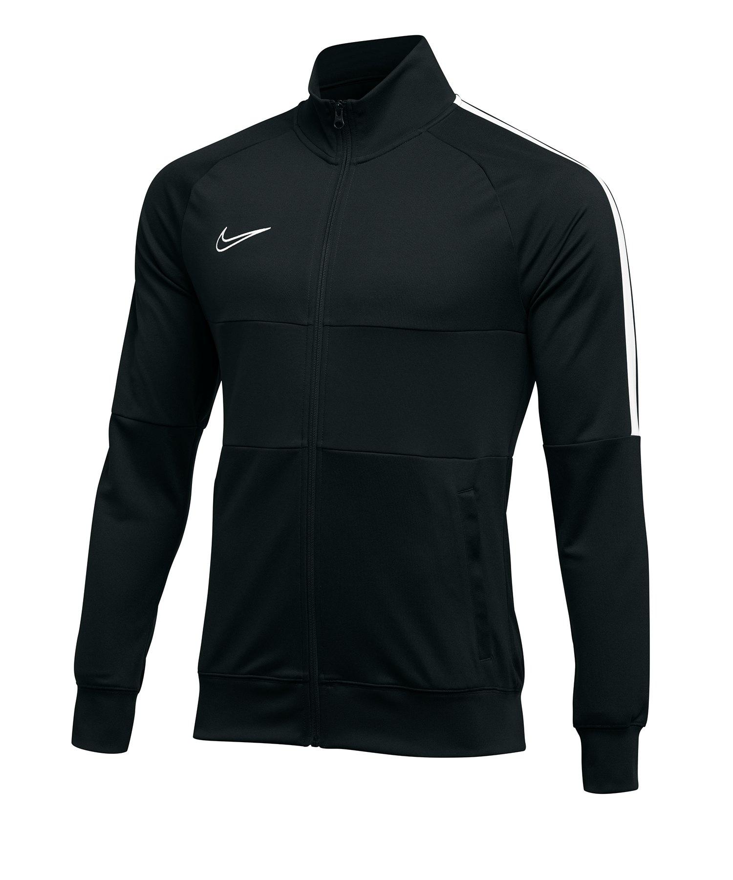 Nike Academy 19 Trainingsjacke Schwarz F010 - schwarz