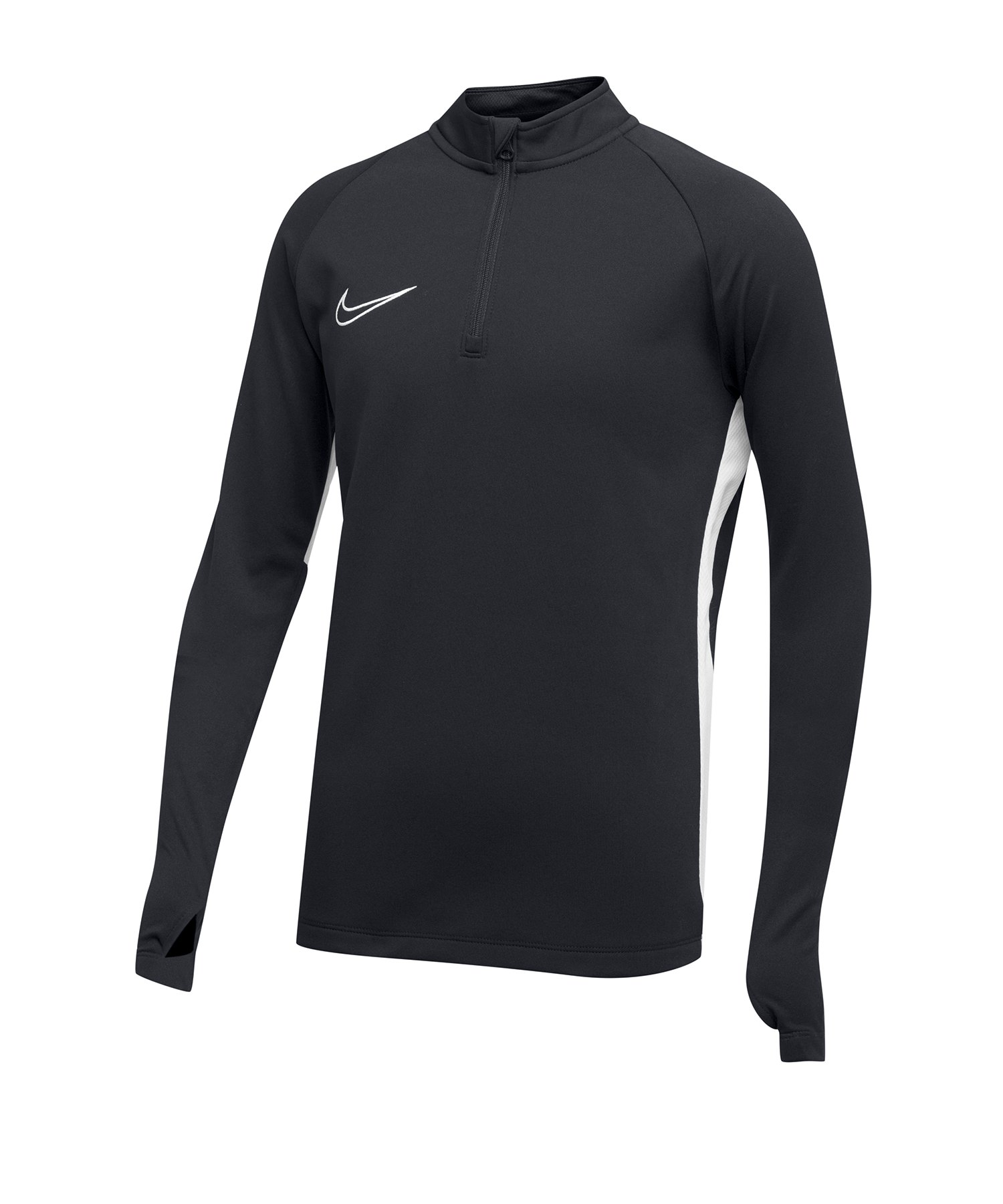 Nike Academy 19 1/4 Zip Drill Top Kids F060 - grau