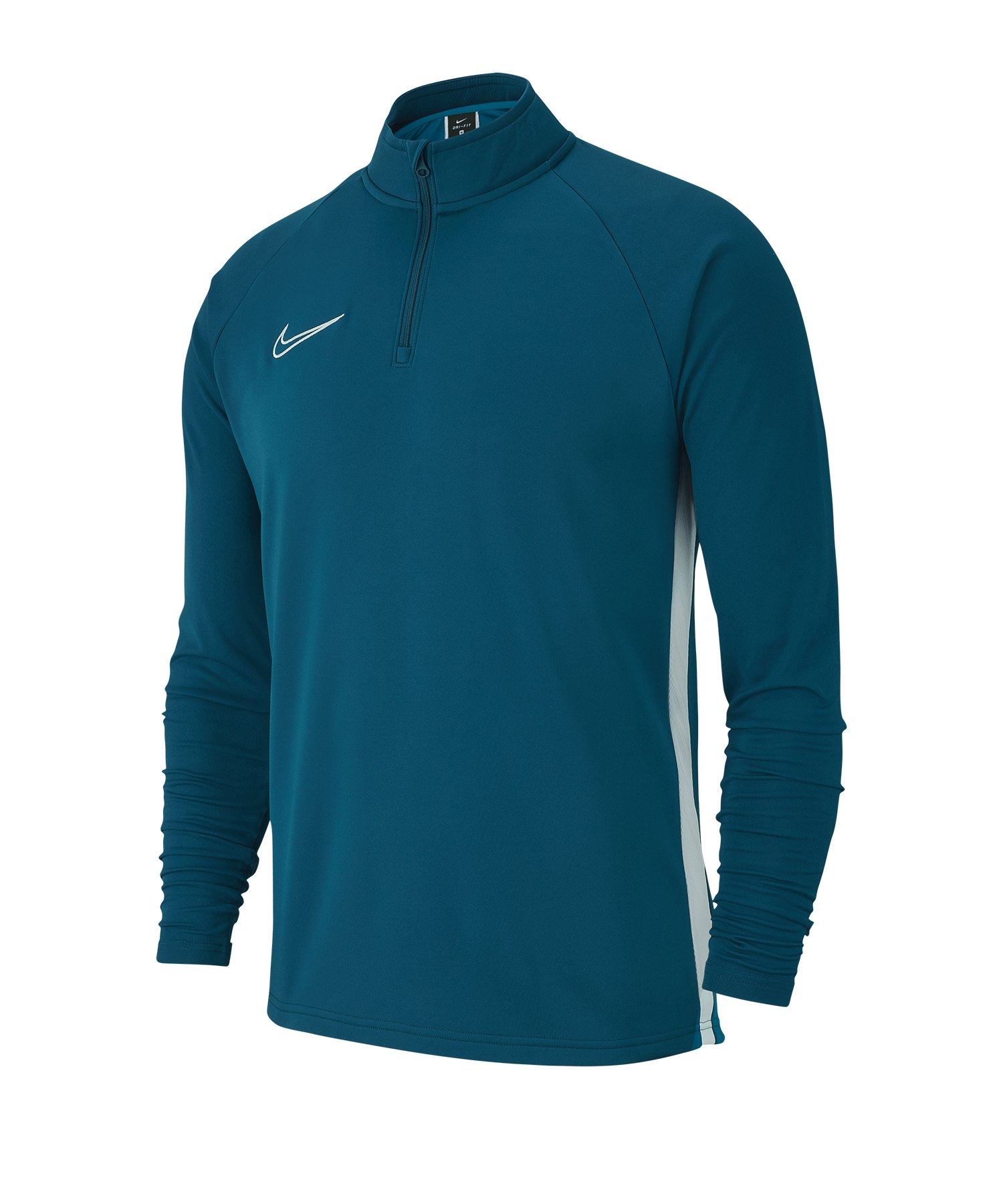 Nike Academy 19 1/4 Zip Drill Top Kids F404 - blau