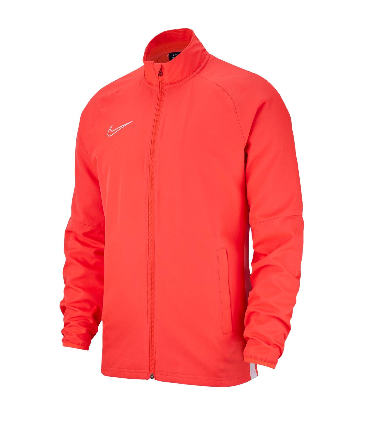 Nike Academy 19 Präsentationsjacke Kids Rot F671 - rot