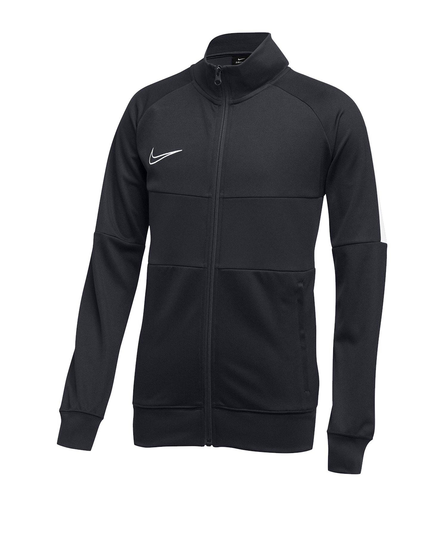 Nike Academy 19 Dri-FIT Jacke Kids Grau Weiss F060 - grau