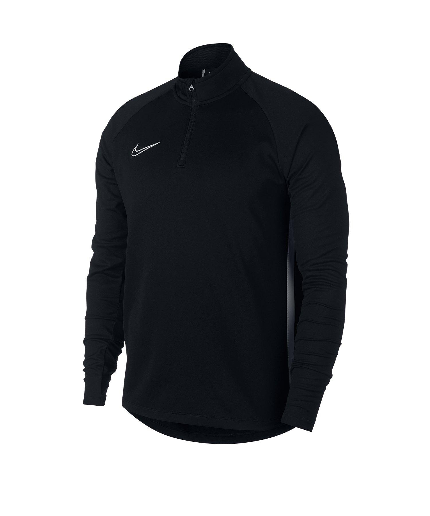 Nike Dry Academy Drill Top Schwarz F010 - schwarz