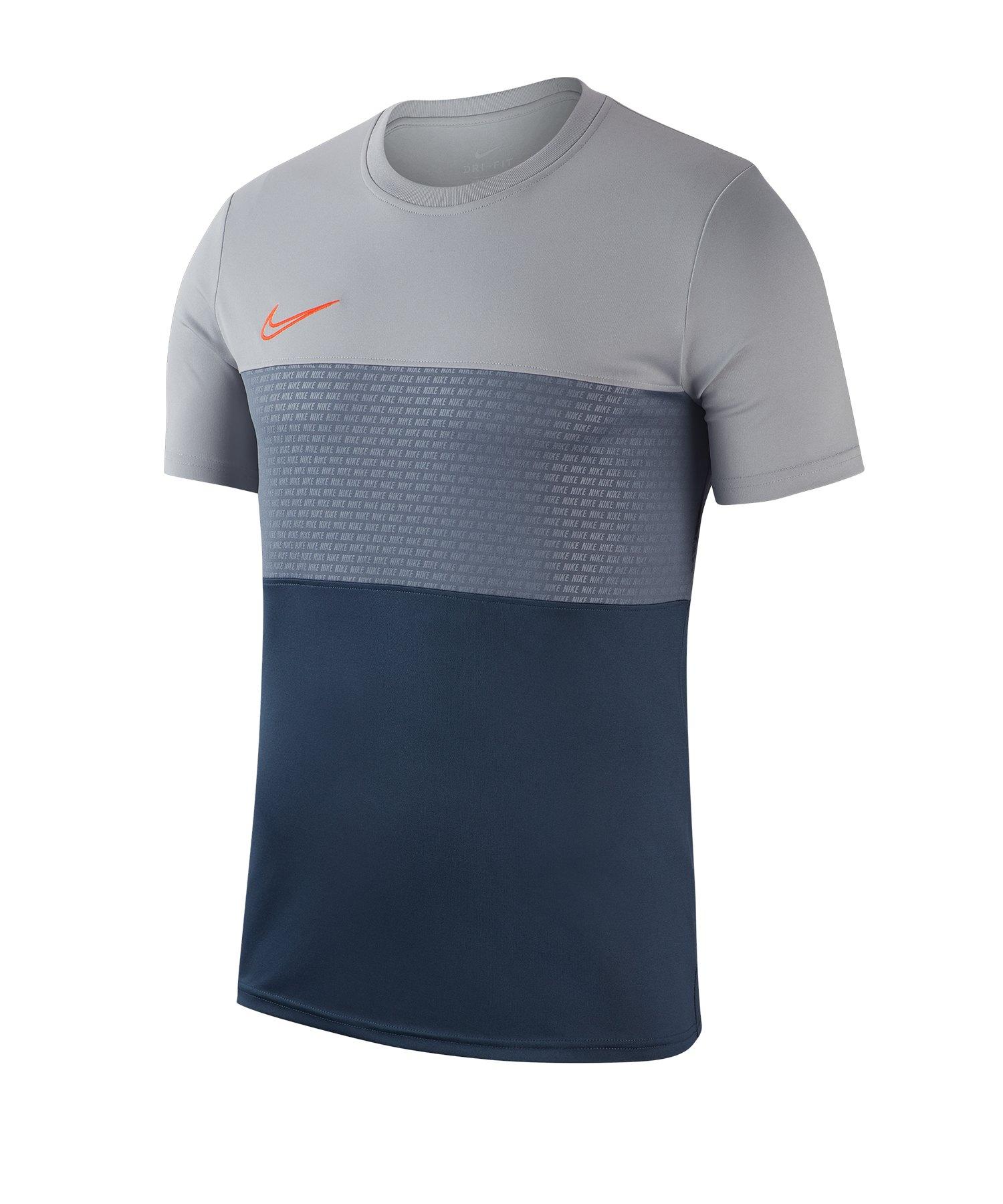 Nike Dri-FIT Academy T-Shirt Grau F012 - Grau