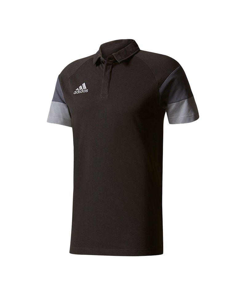 adidas Poloshirt Condivo 16 CL Schwarz - schwarz