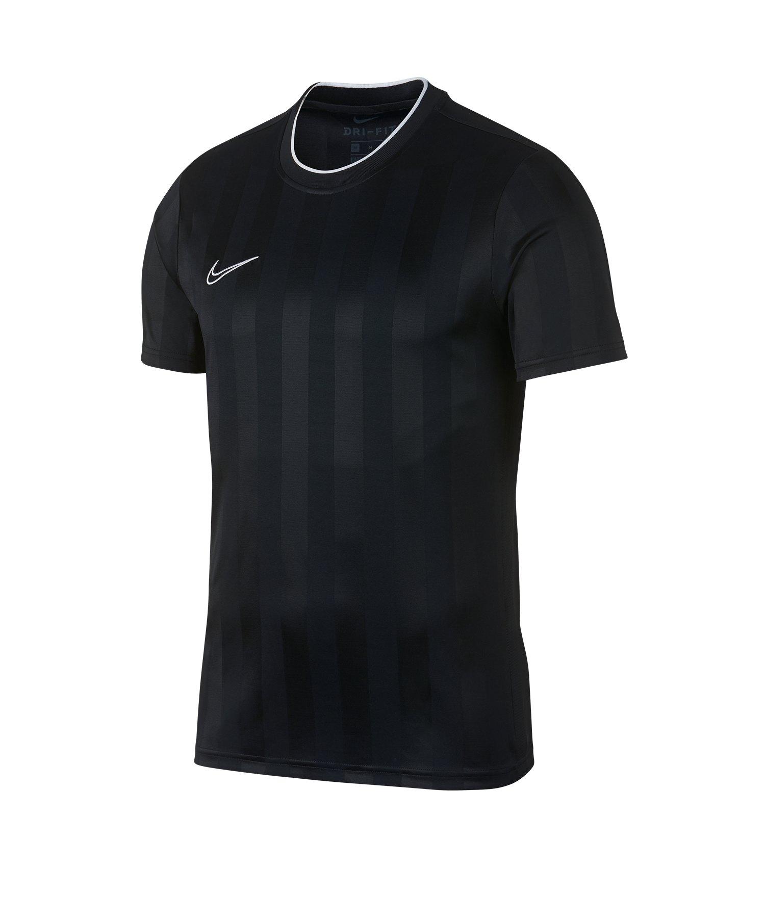 Nike F.C Breathe Academy T-Shirt Schwarz F010 - schwarz