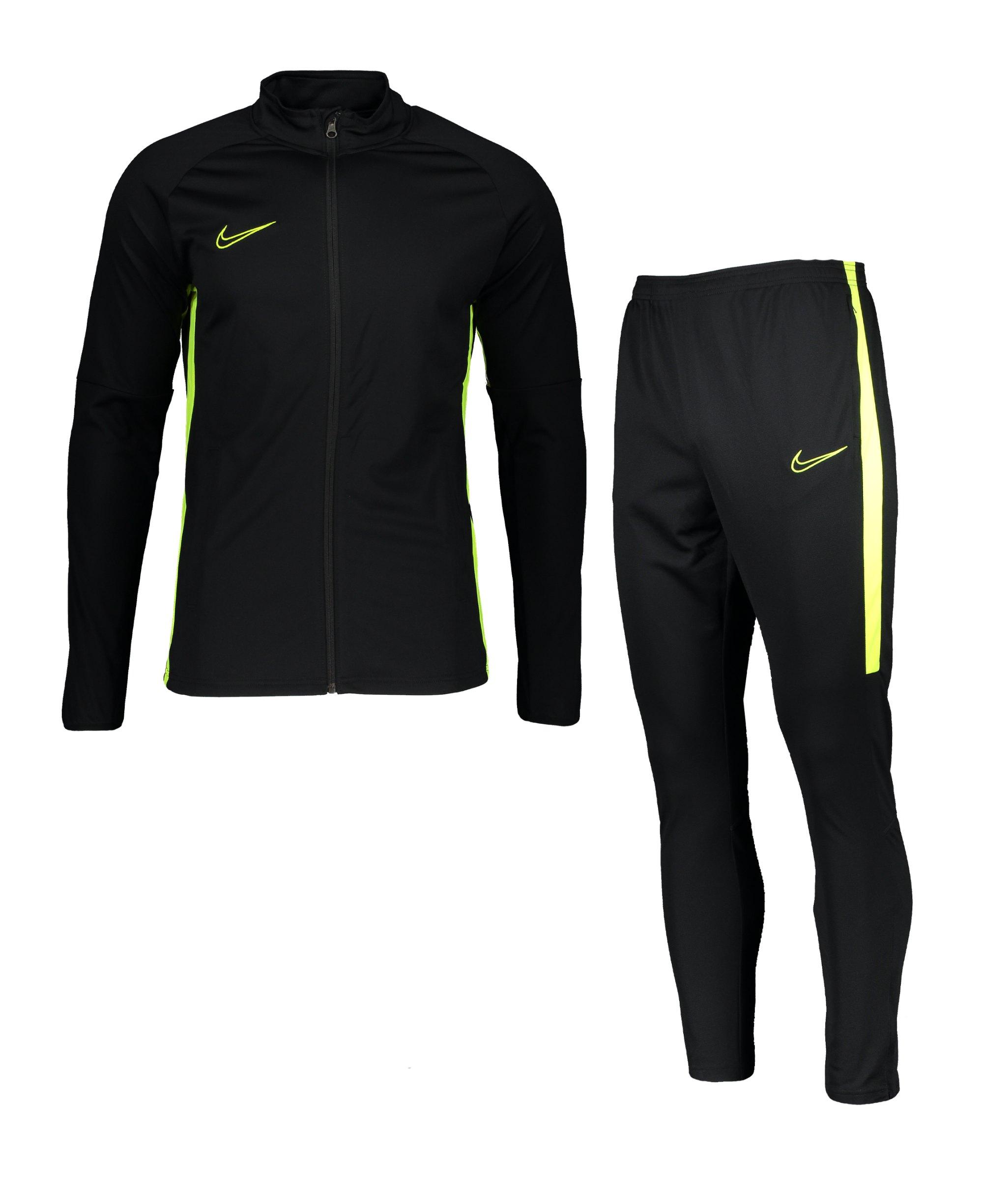 Nike Dri-FIT Academy Trainingsanzug Schwarz F017 - schwarz