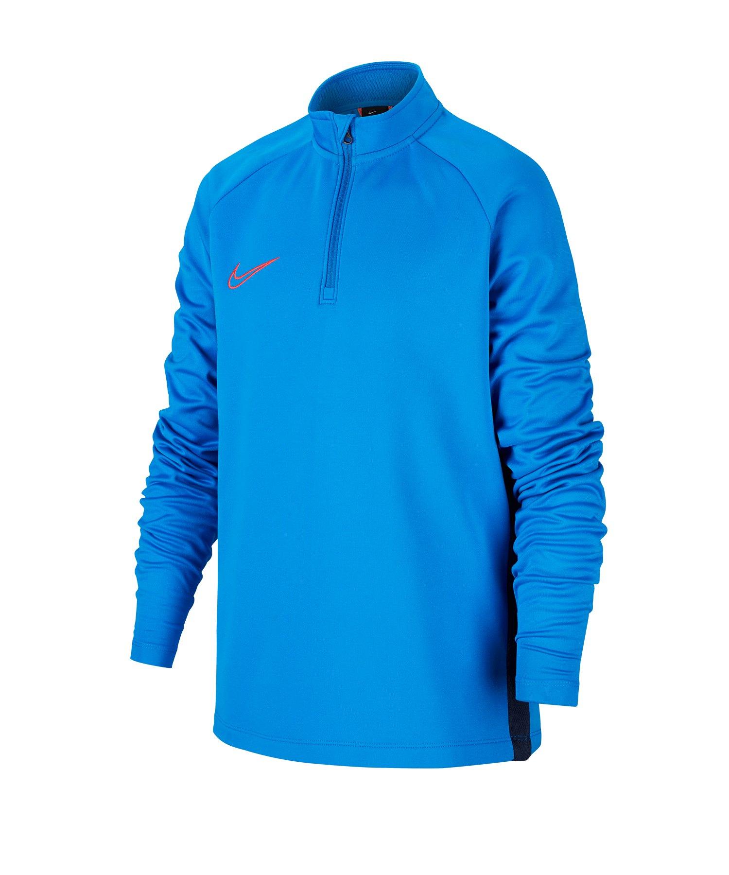 Nike Dry Academy Drill Top Kids Blau F453 - blau