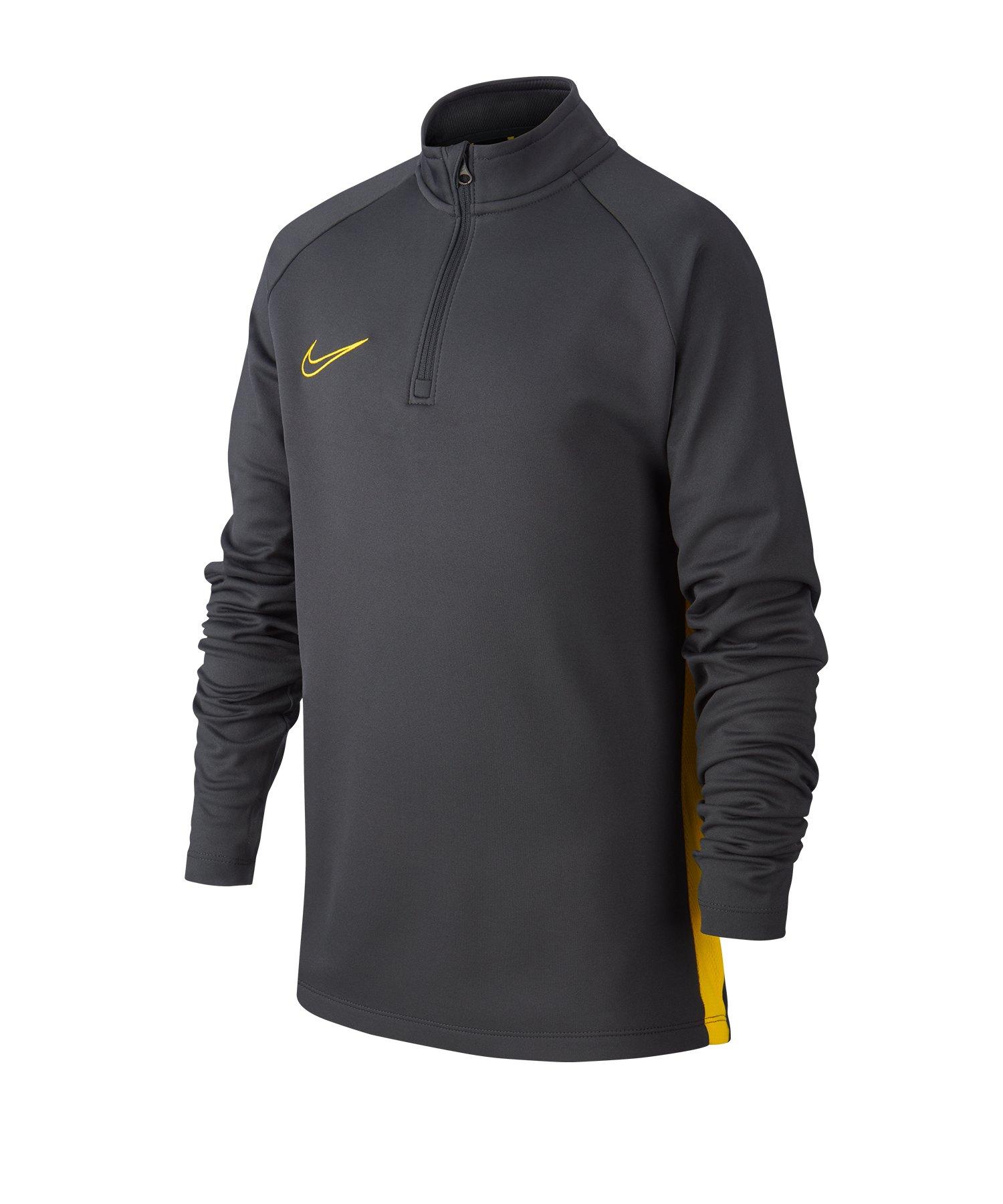 Nike Dry Academy Drill Top Kids Grau F060 - grau
