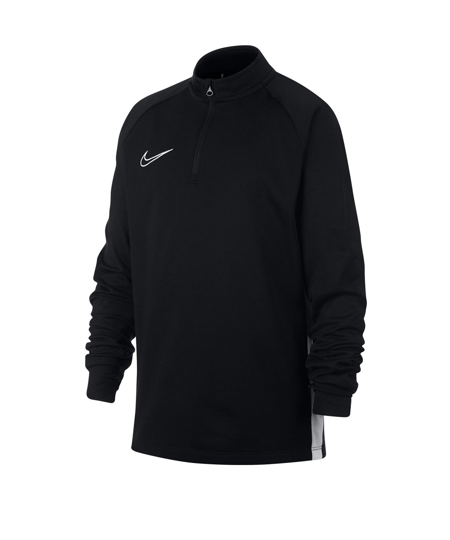 Nike Dry Academy Drill Top Kids Schwarz F010 - schwarz