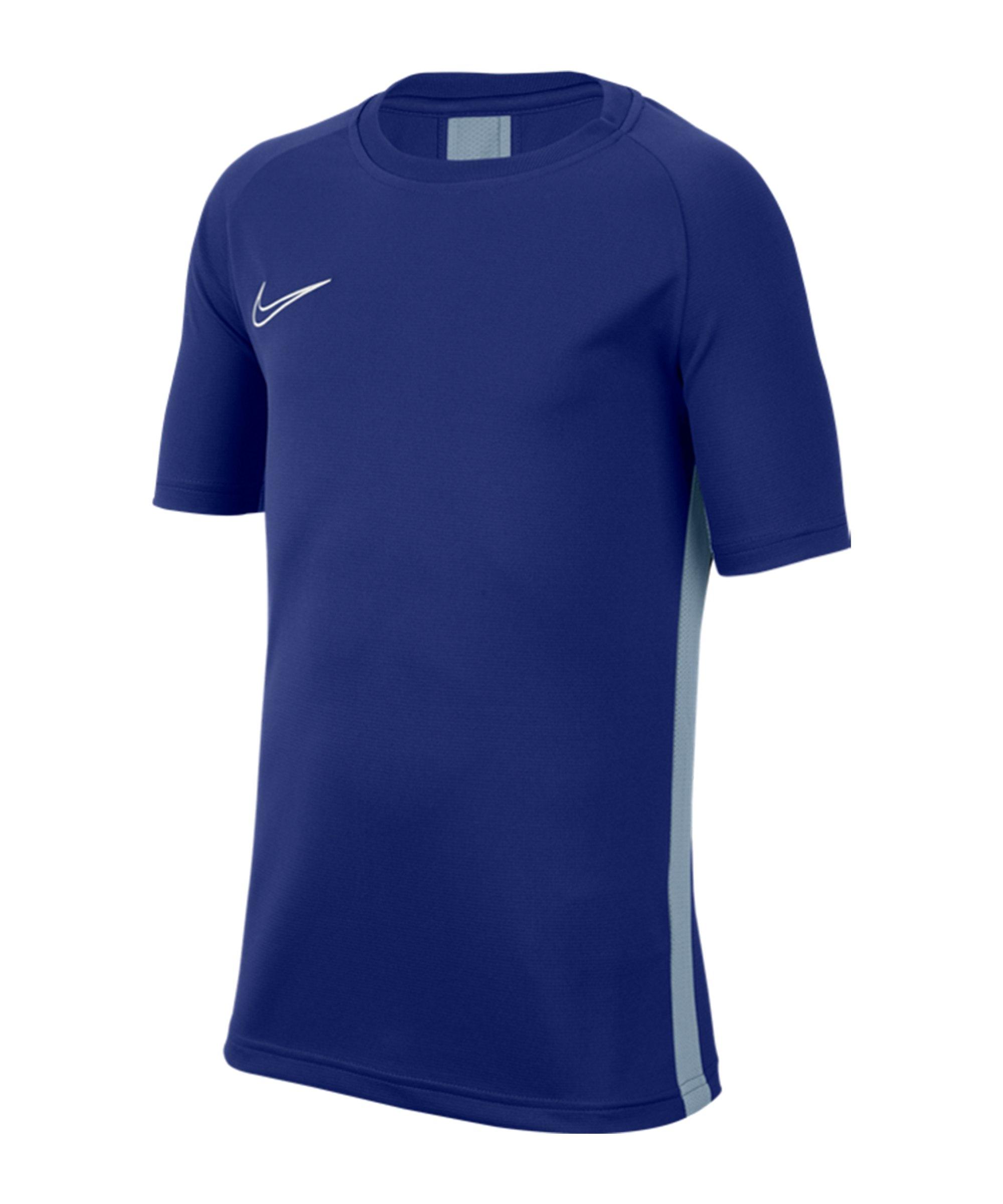 Nike Academy Dri-FIT Top T-Shirt Kids Blau F455 - blau