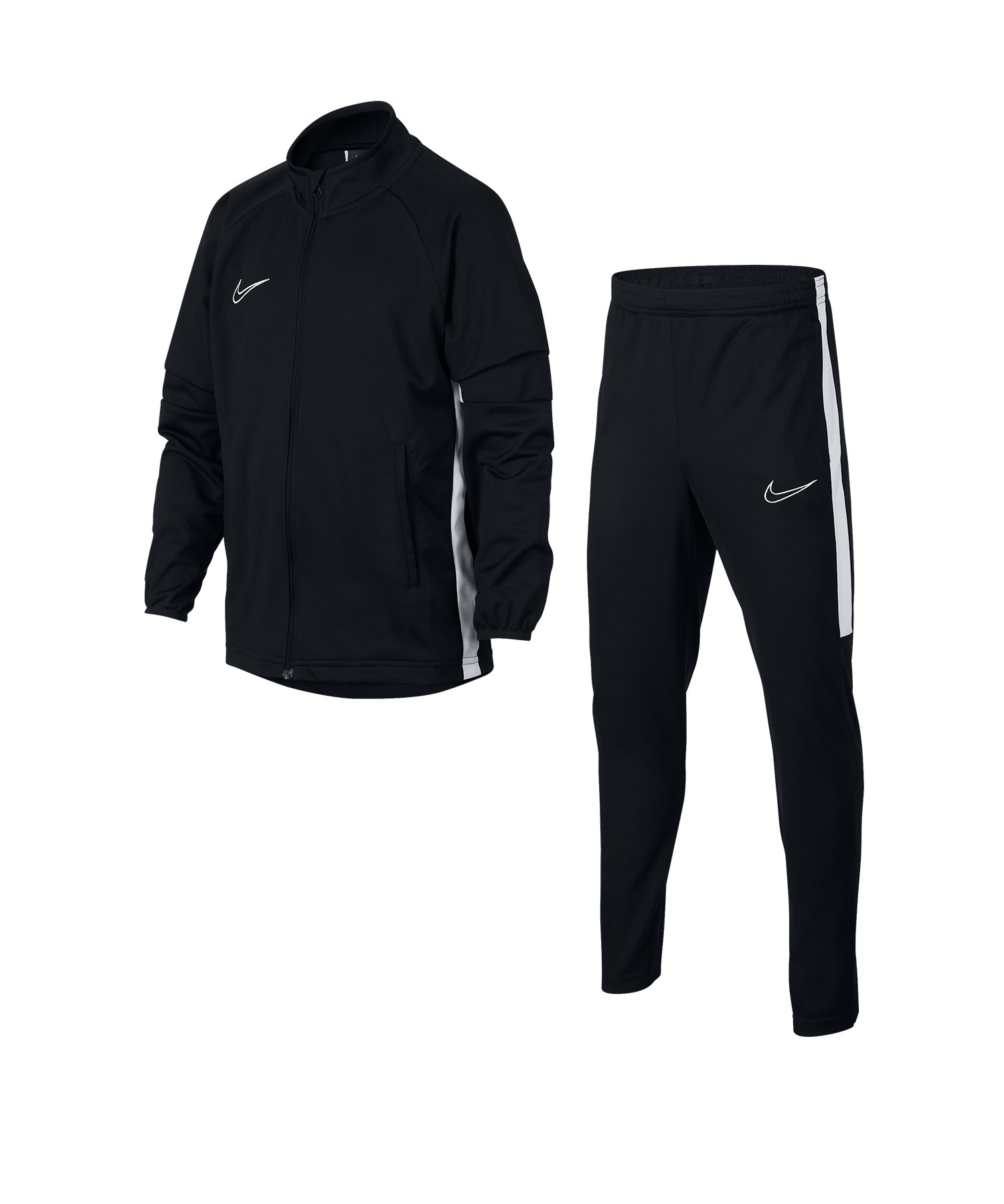 Nike Polyester Trainingshose Kinder Kids schwarz