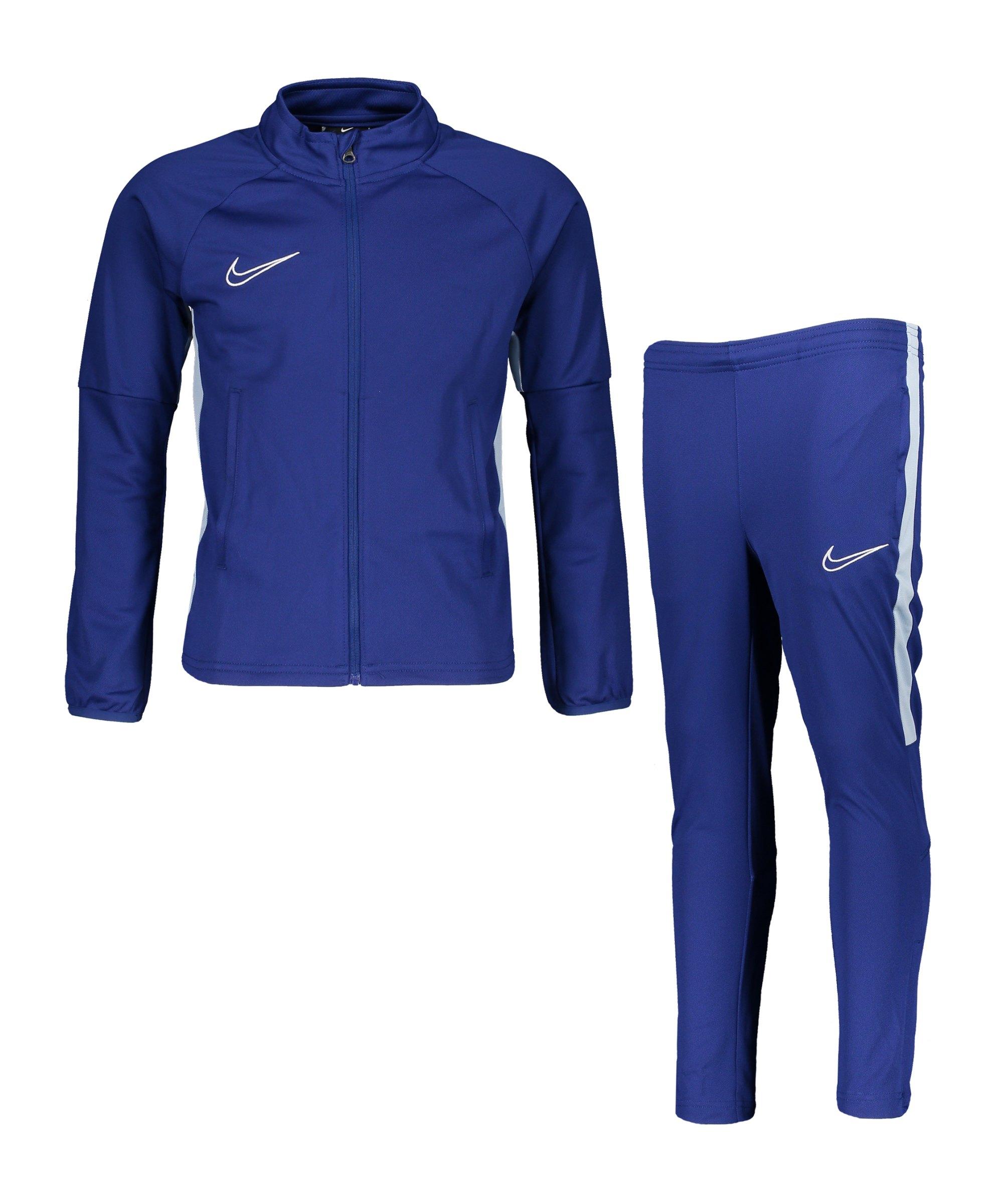 Nike Academy Dri-FIT Trainingsanzug Kids F455 - blau