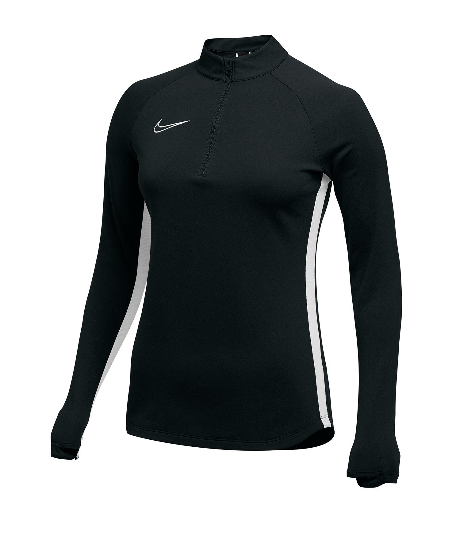Nike Academy 19 Drill Top Sweatshirt Damen F010 - schwarz