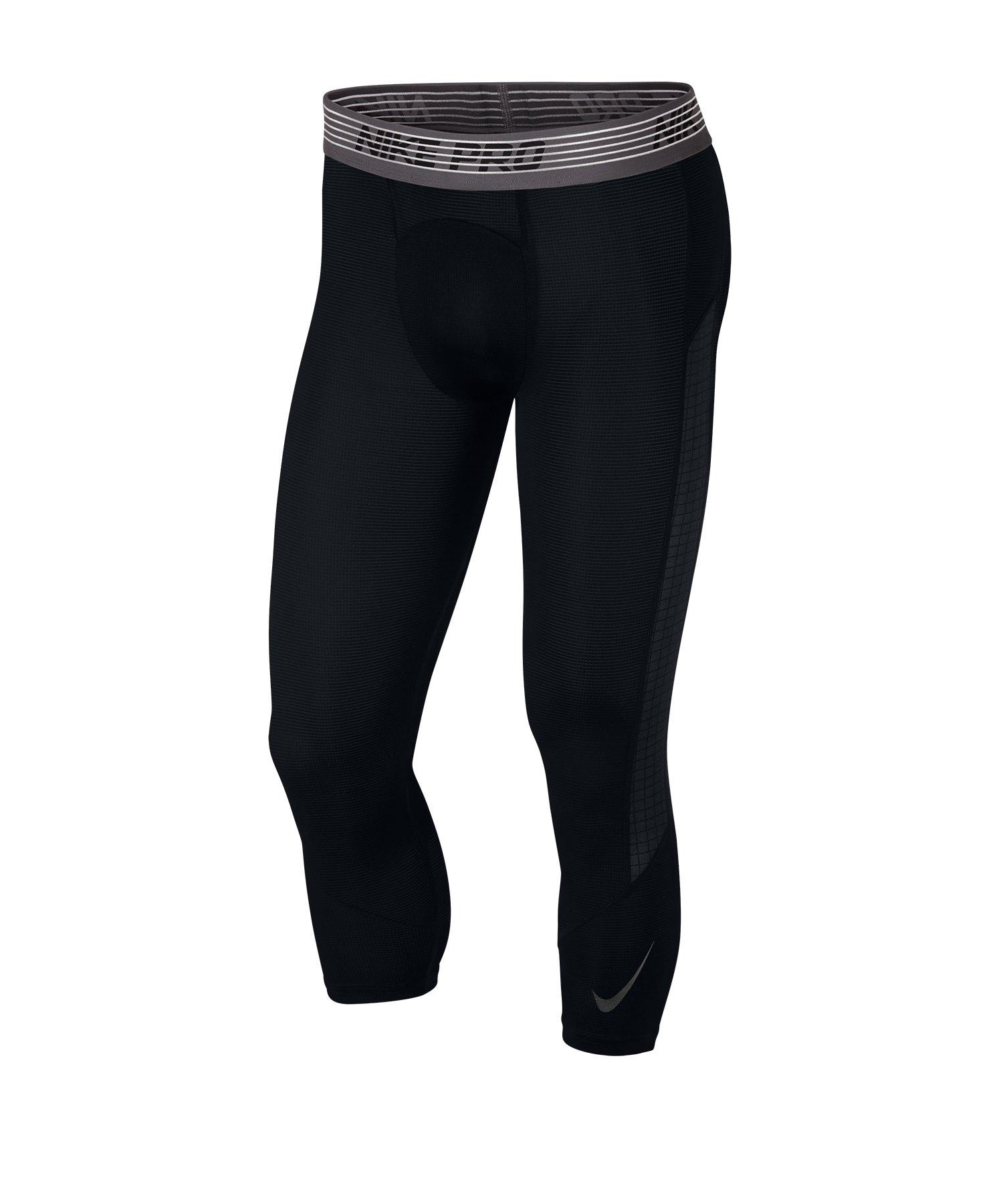 Nike Pro 3/4 Tights Schwarz F010 - schwarz