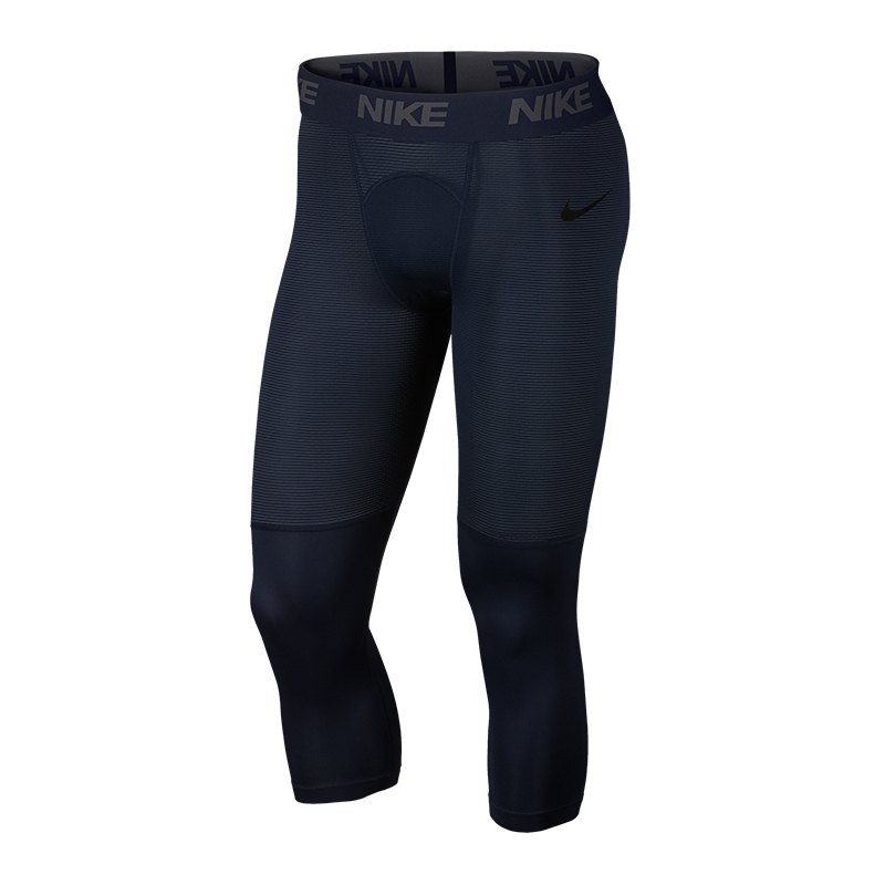 Nike Pro 3/4 Tight Blau F451 - Blau
