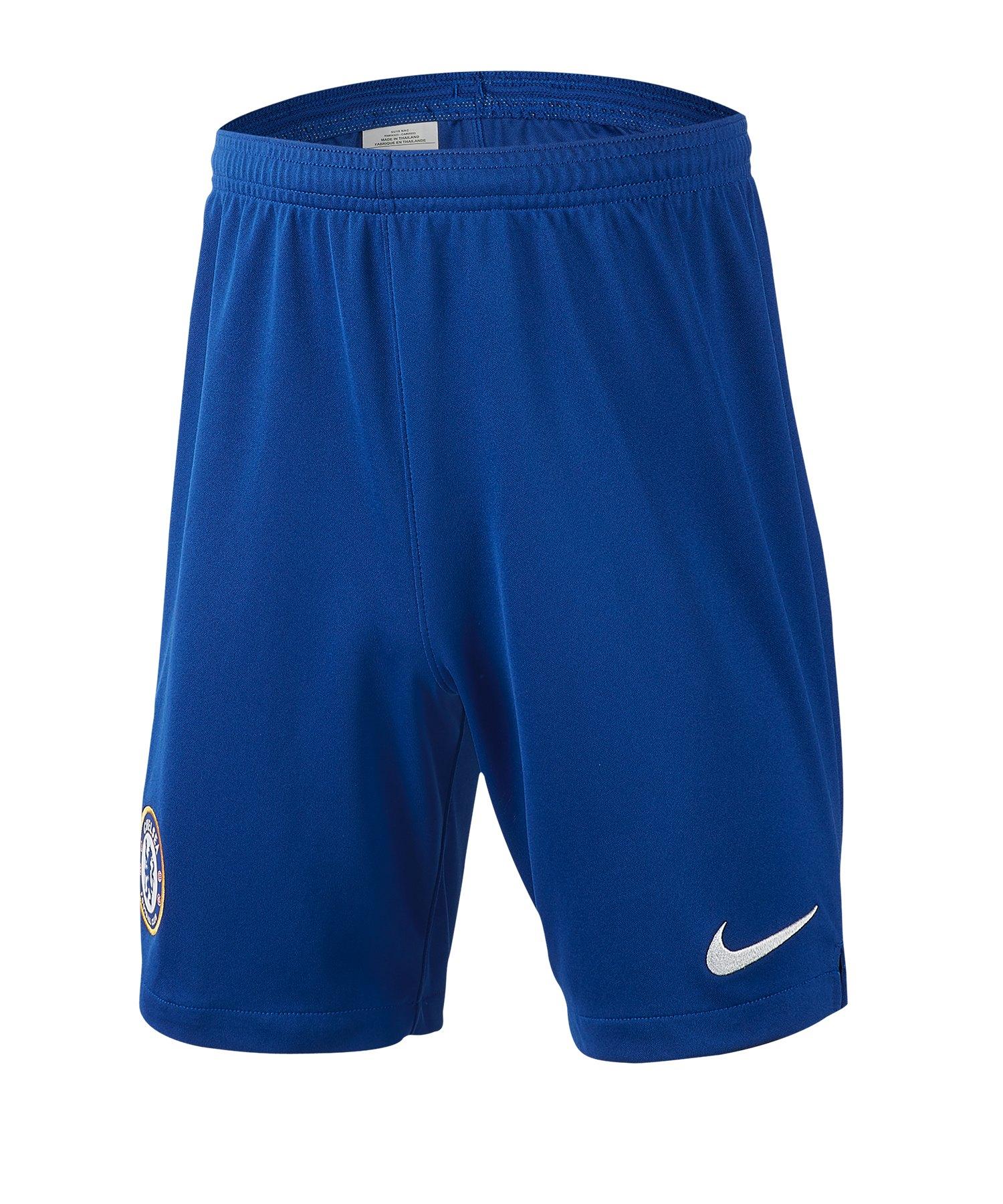 Nike FC Chelsea London Short Home Kids 19/20 F494 - Blau