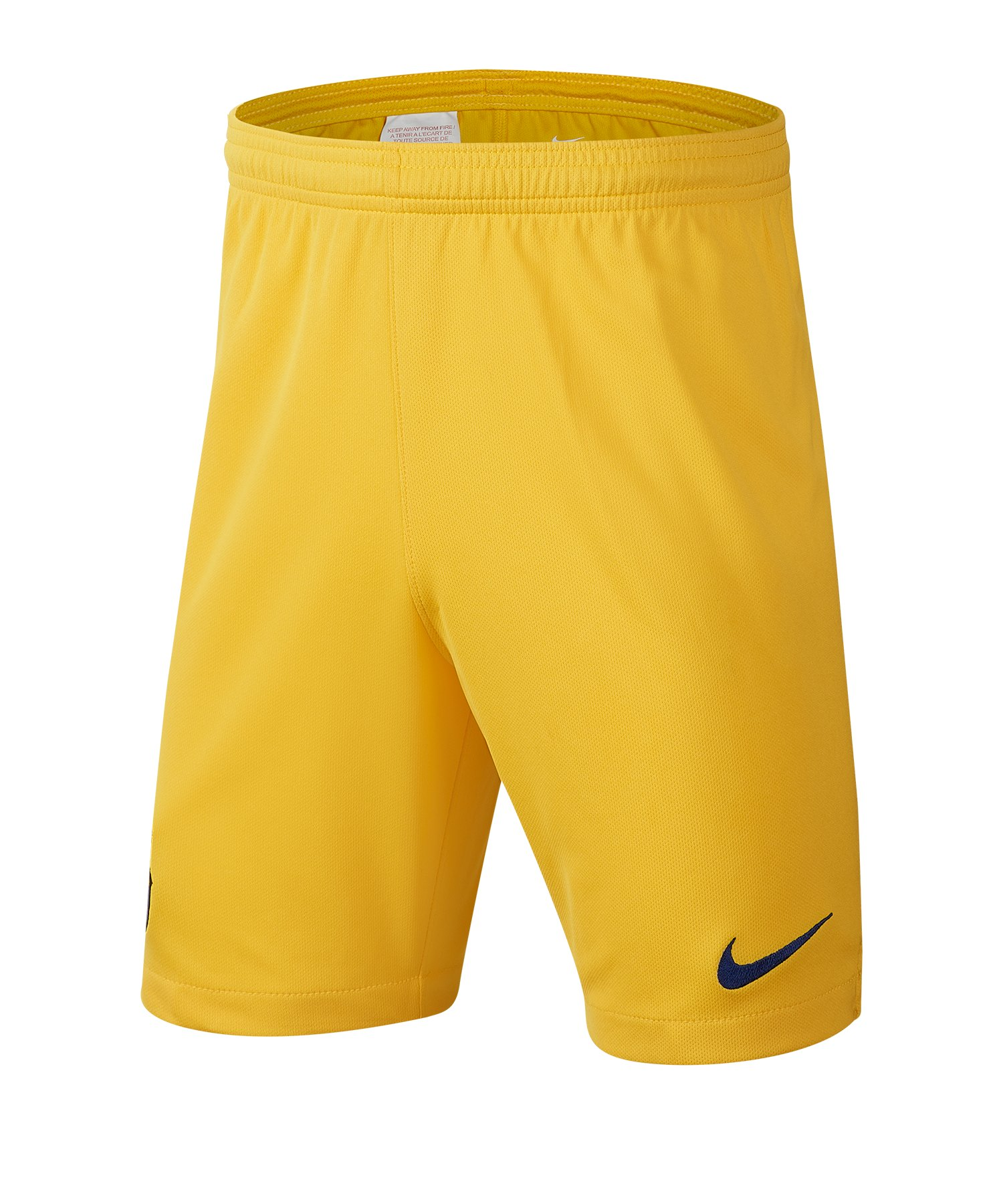 Nike FC Barcelona Short Away 2019/2020 Kids Gelb F726 - gelb