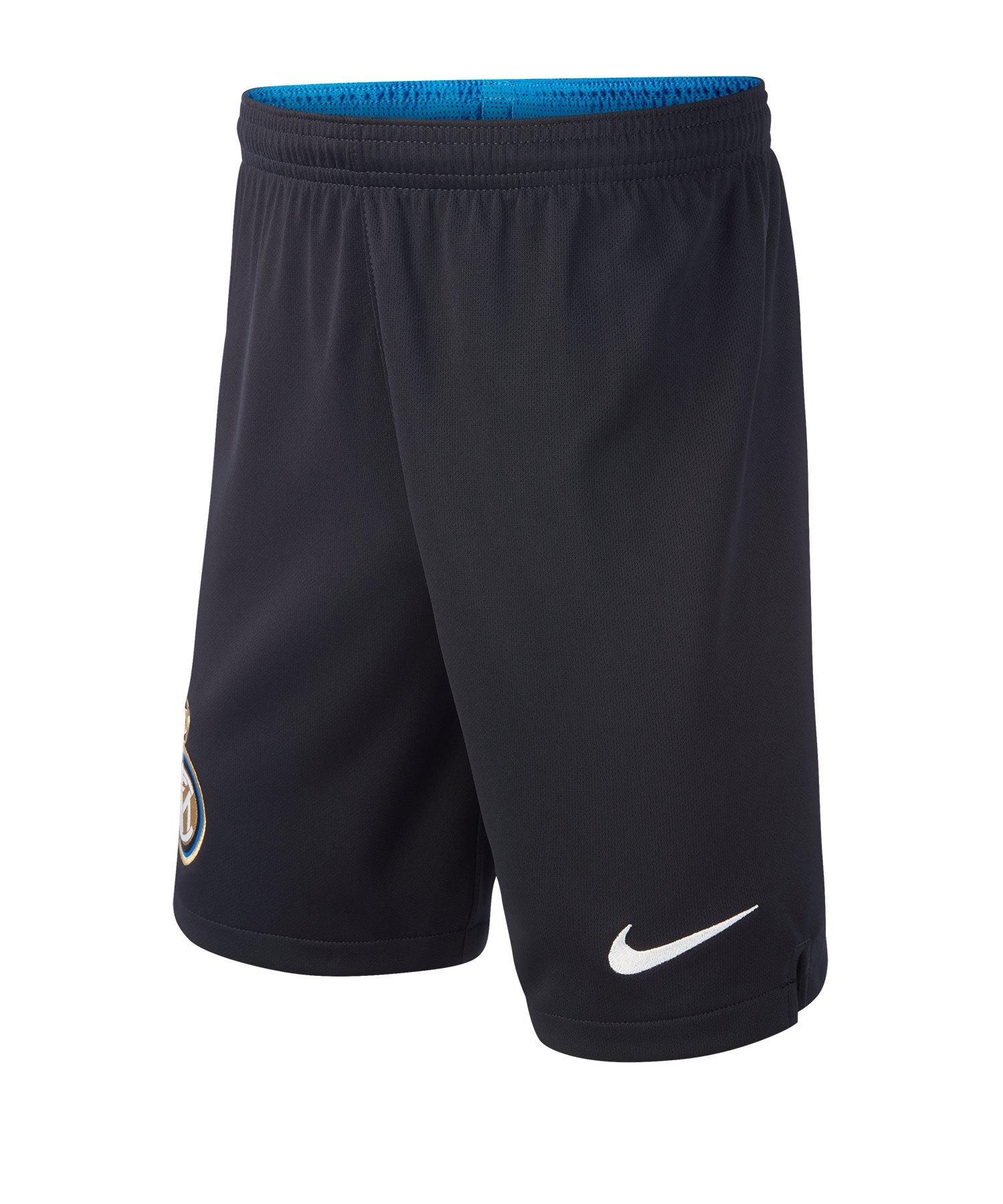 Nike Inter Mailand Short Home Kids 2019/2020 Schwarz F010 - Schwarz