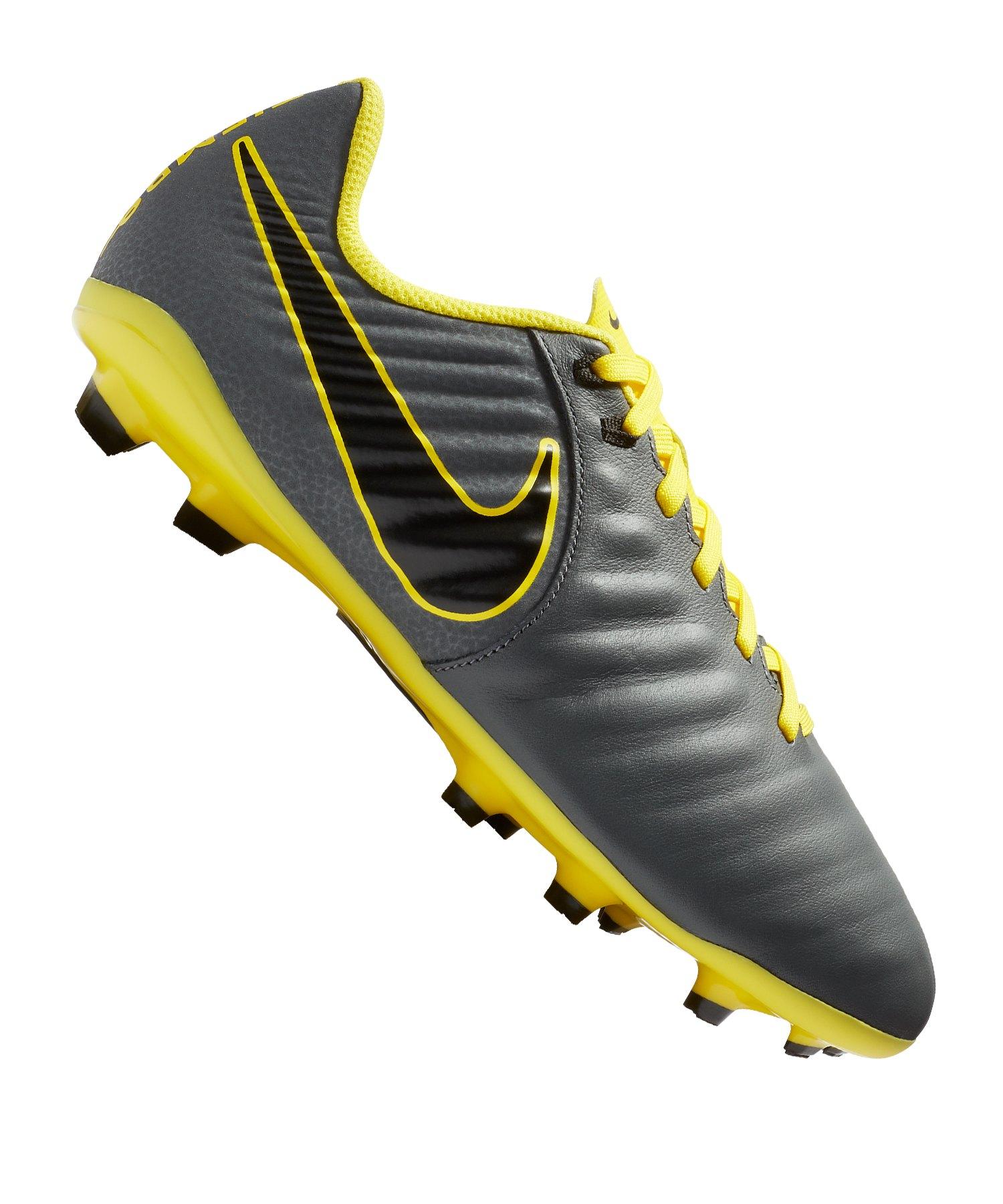 Nike Jr Tiempo Legend VII Academy FG Kids F070 - grau