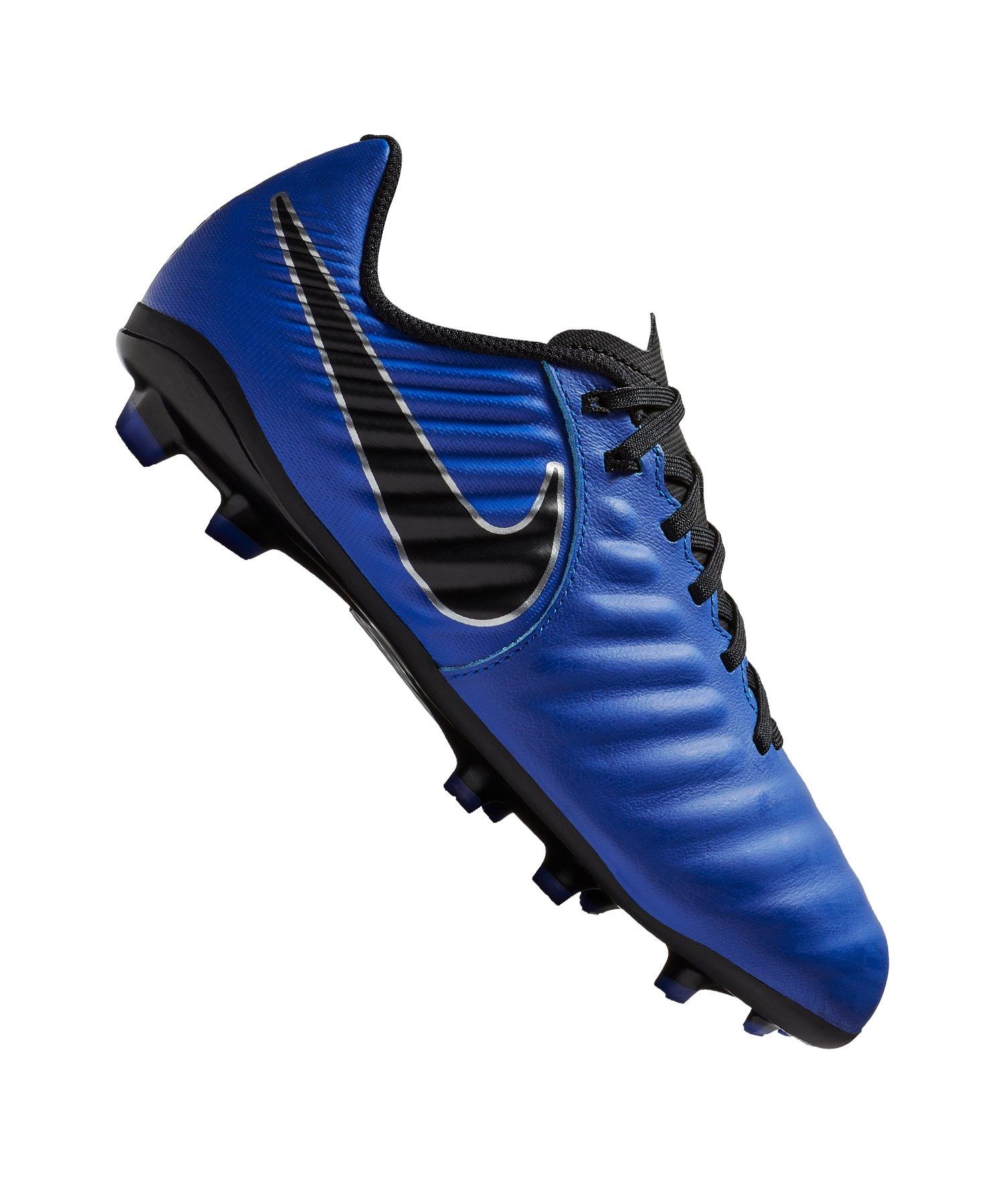 Nike Jr Tiempo Legend VII Academy FG Kids F400 - blau