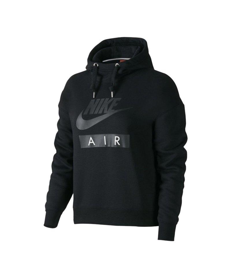 Nike Air Hoody Damen Schwarz F010 - schwarz